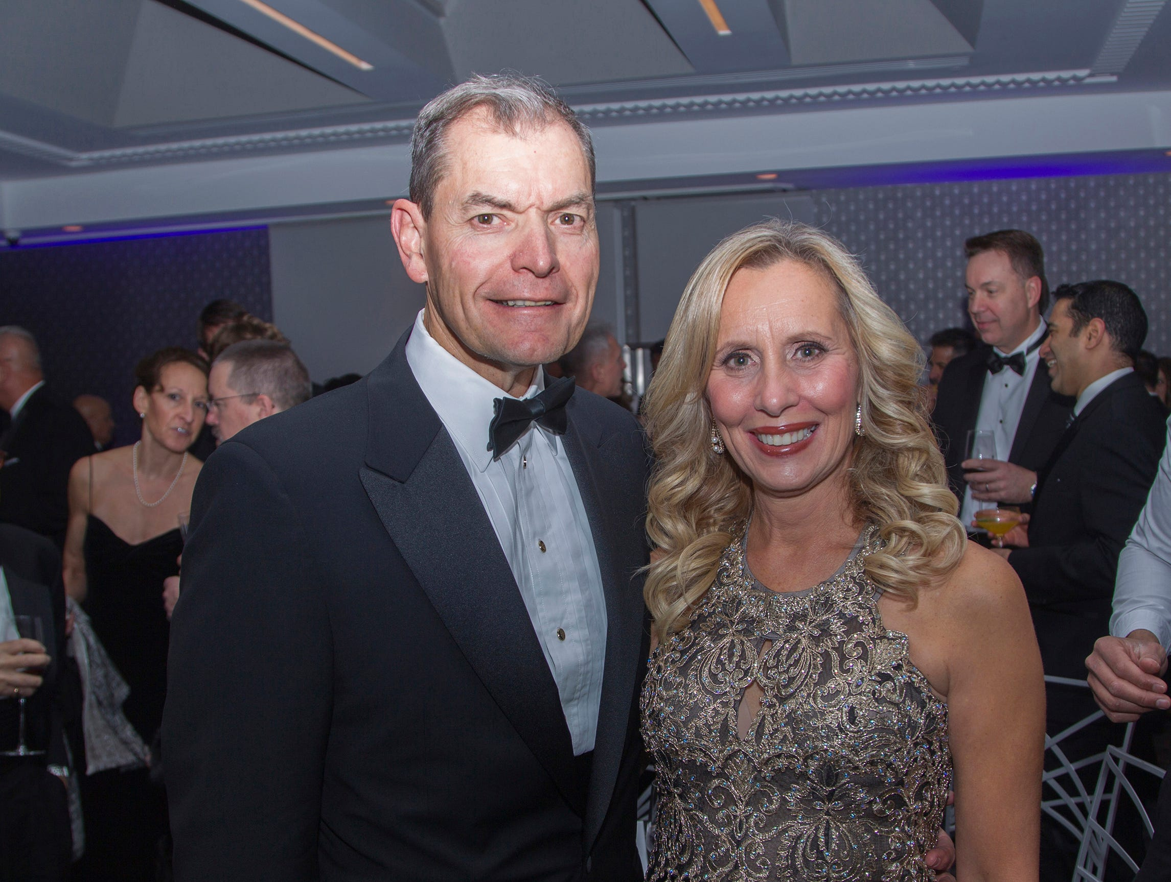 Dr. and Mrs. Michael Meese. Holy Name Medical Center held its 2018 Founders Ball in NYC at Ziegfeld Ballroom. 11/17/2018