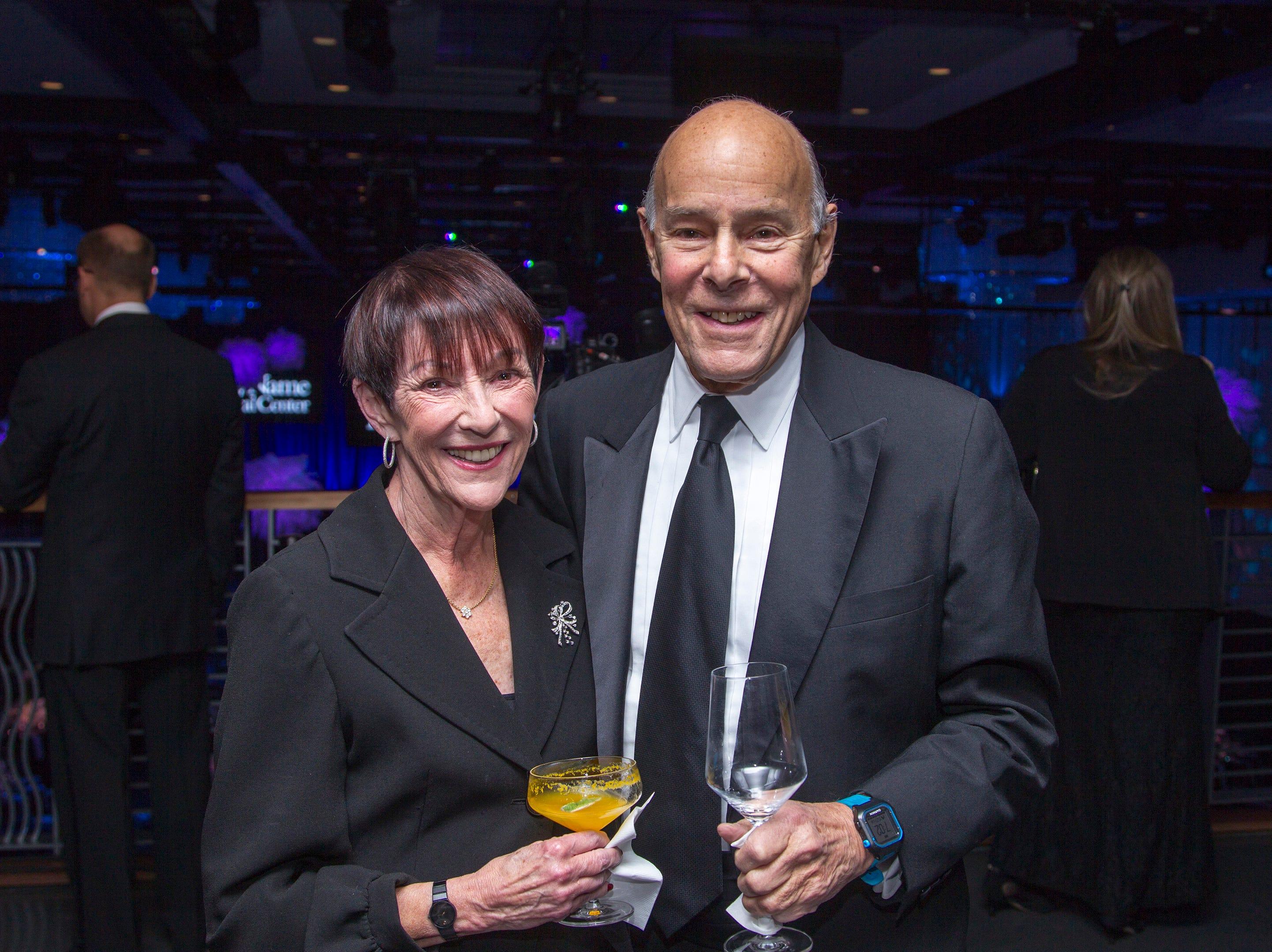 Jane and Michael Griffinger. Holy Name Medical Center held its 2018 Founders Ball in NYC at Ziegfeld Ballroom. 11/17/2018