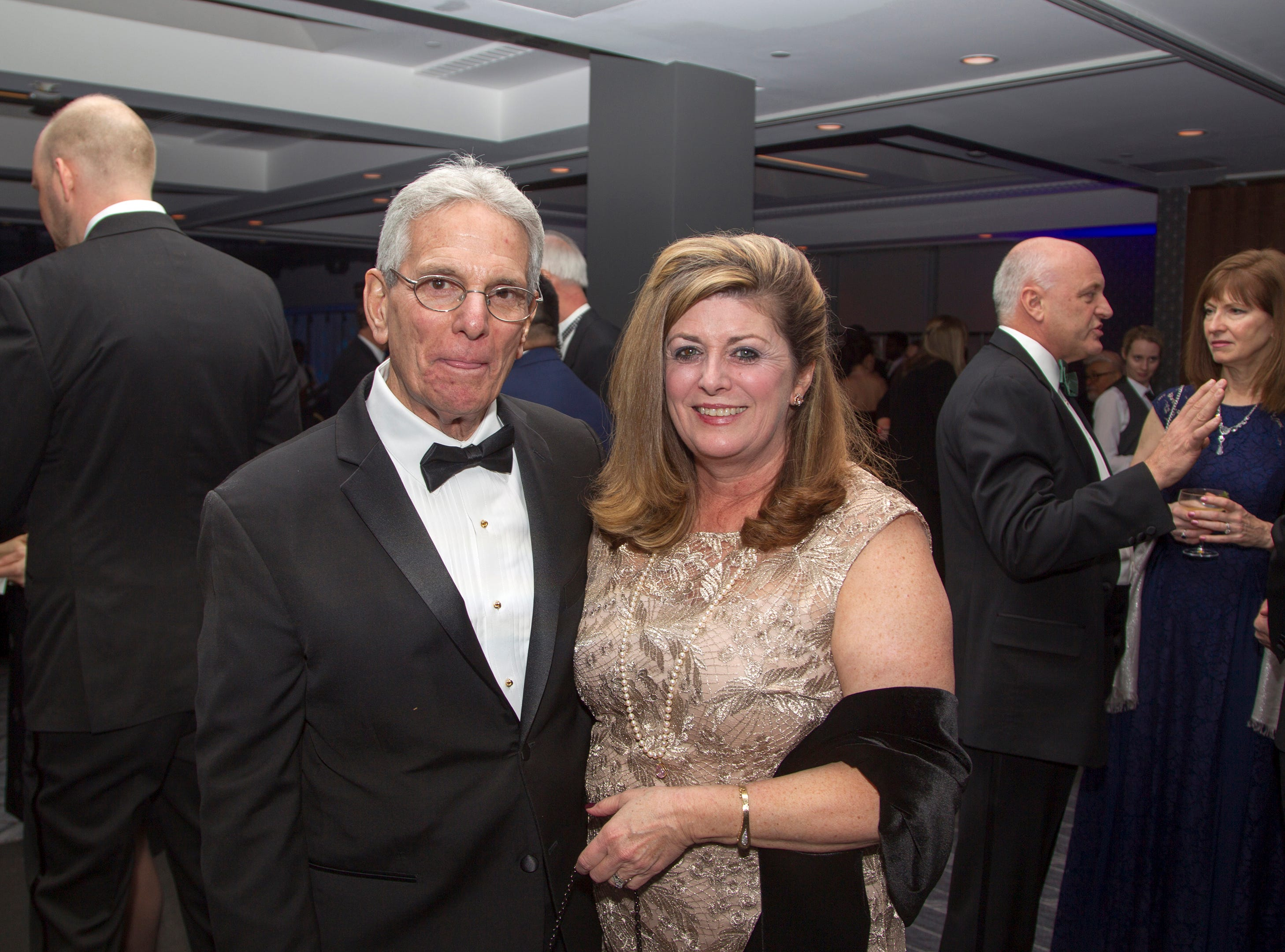 Dr. Charlie Vialotti, Diane Maron. Holy Name Medical Center held its 2018 Founders Ball in NYC at Ziegfeld Ballroom. 11/17/2018