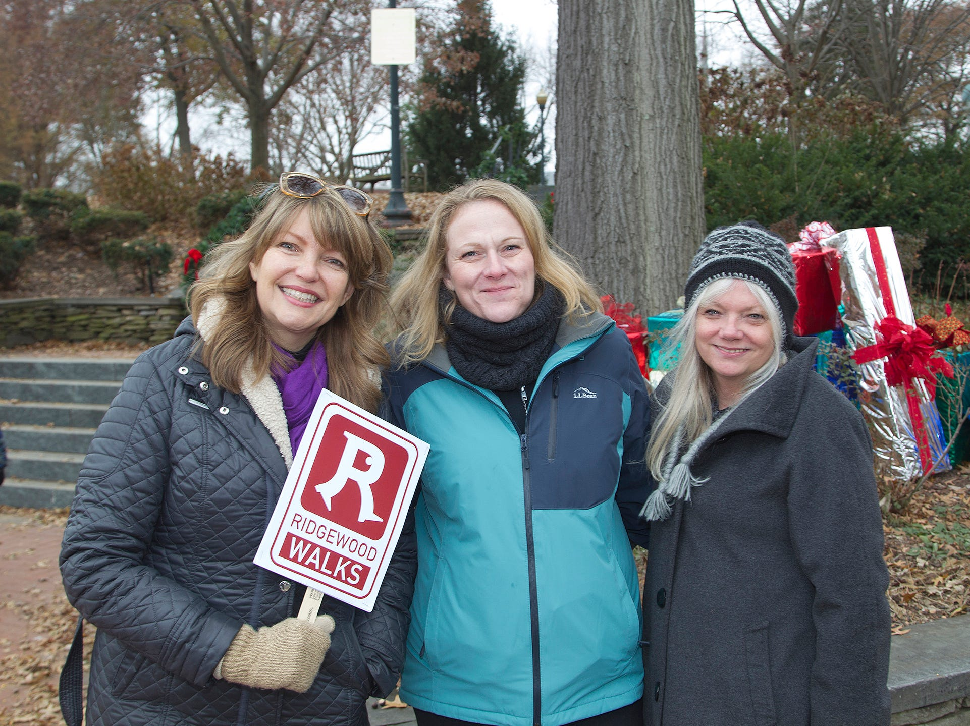 Jeanne Johnson, Frances Mertz, Lynne Freeman. The Ridgewood Guild sponsors Winter Fest at Van Neste Park in Ridgewood. 11/24/2018