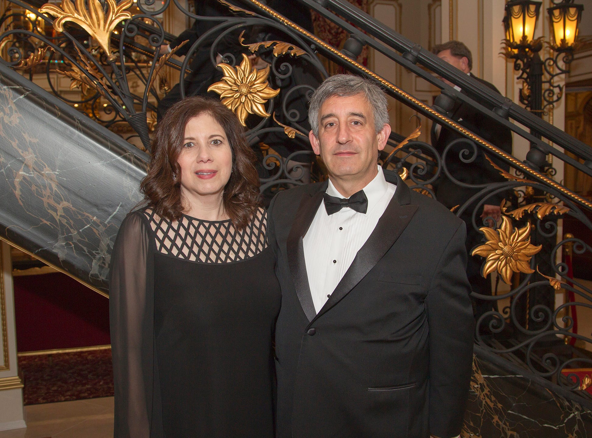 Marc and Jocelyn Dreier. The 72nd Annual Valley Ball gala at The Legacy Castle in Pompton Plains. 11/16/2018
