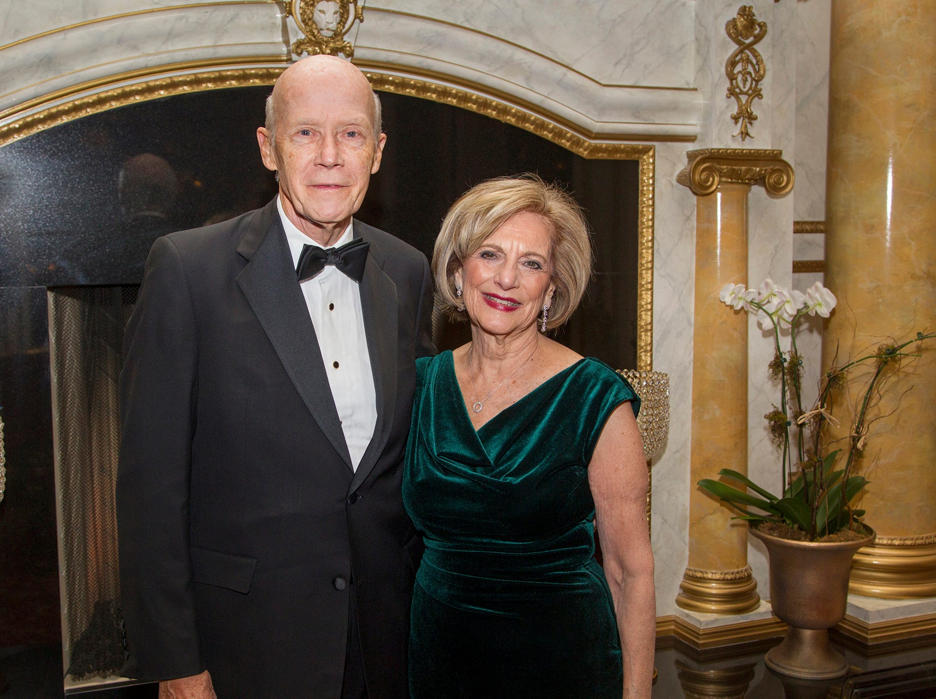 Walt and Lee Jenkins. The 72nd Annual Valley Ball gala at The Legacy Castle in Pompton Plains. 11/16/2018