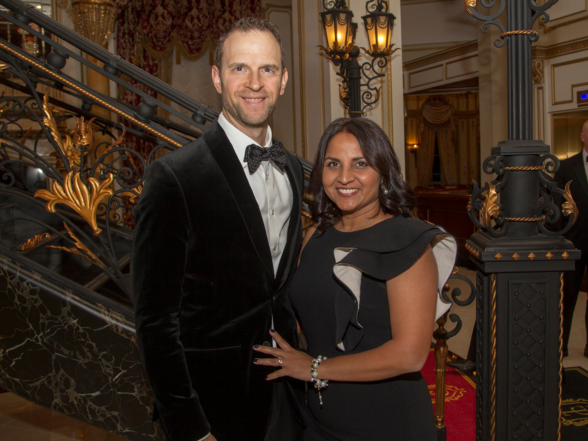 Rob and Rashmi Angner. The 72nd Annual Valley Ball gala at The Legacy Castle in Pompton Plains. 11/16/2018