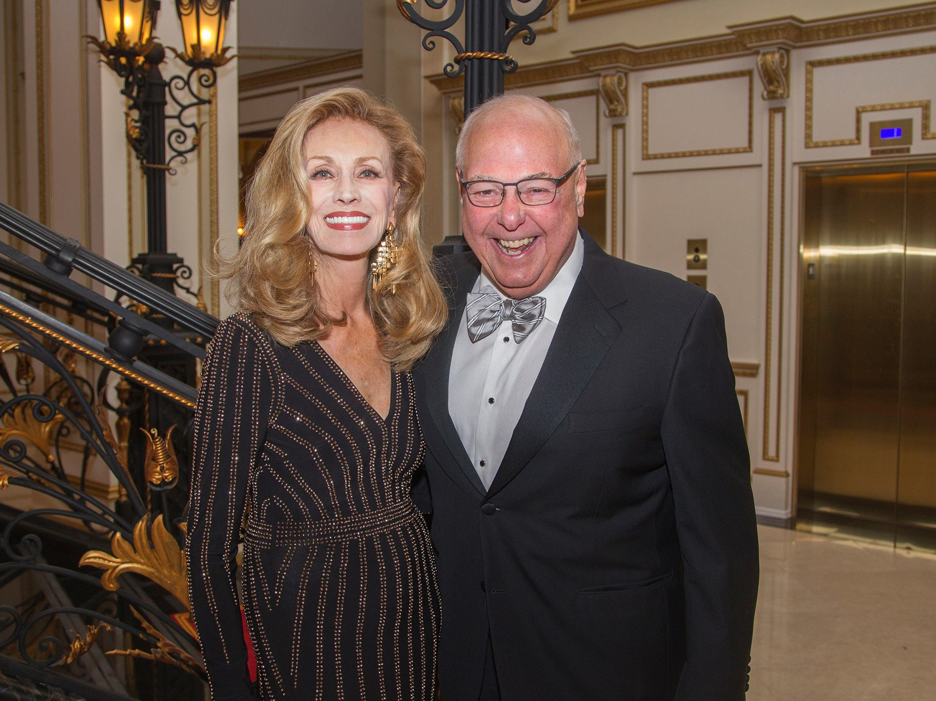 Diane  Frankel-Hughes, Frank Huges. The 72nd Annual Valley Ball gala at The Legacy Castle in Pompton Plains. 11/16/2018