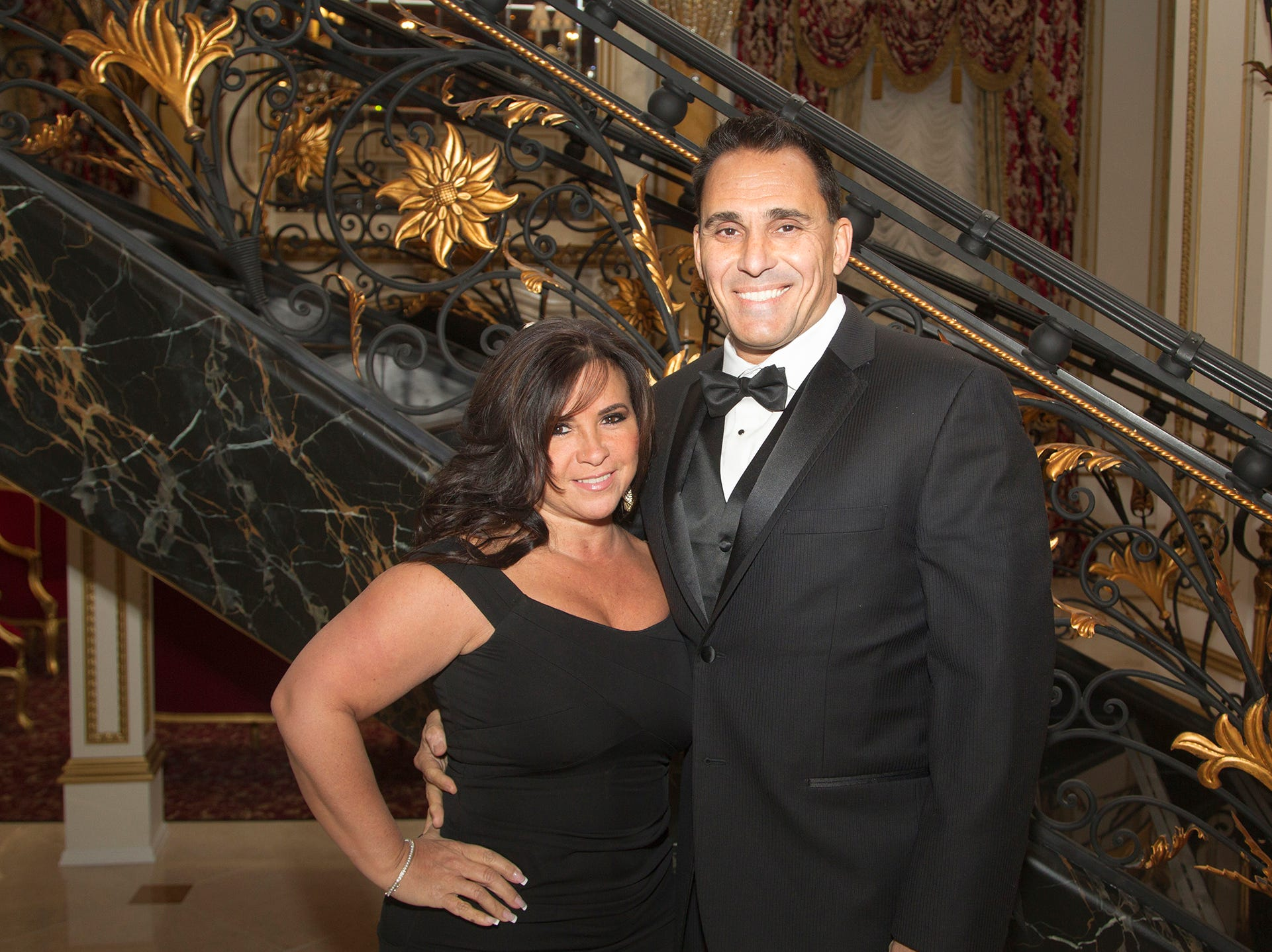 Sal and Monica D'Ambrosia. The 72nd Annual Valley Ball gala at The Legacy Castle in Pompton Plains. 11/16/2018