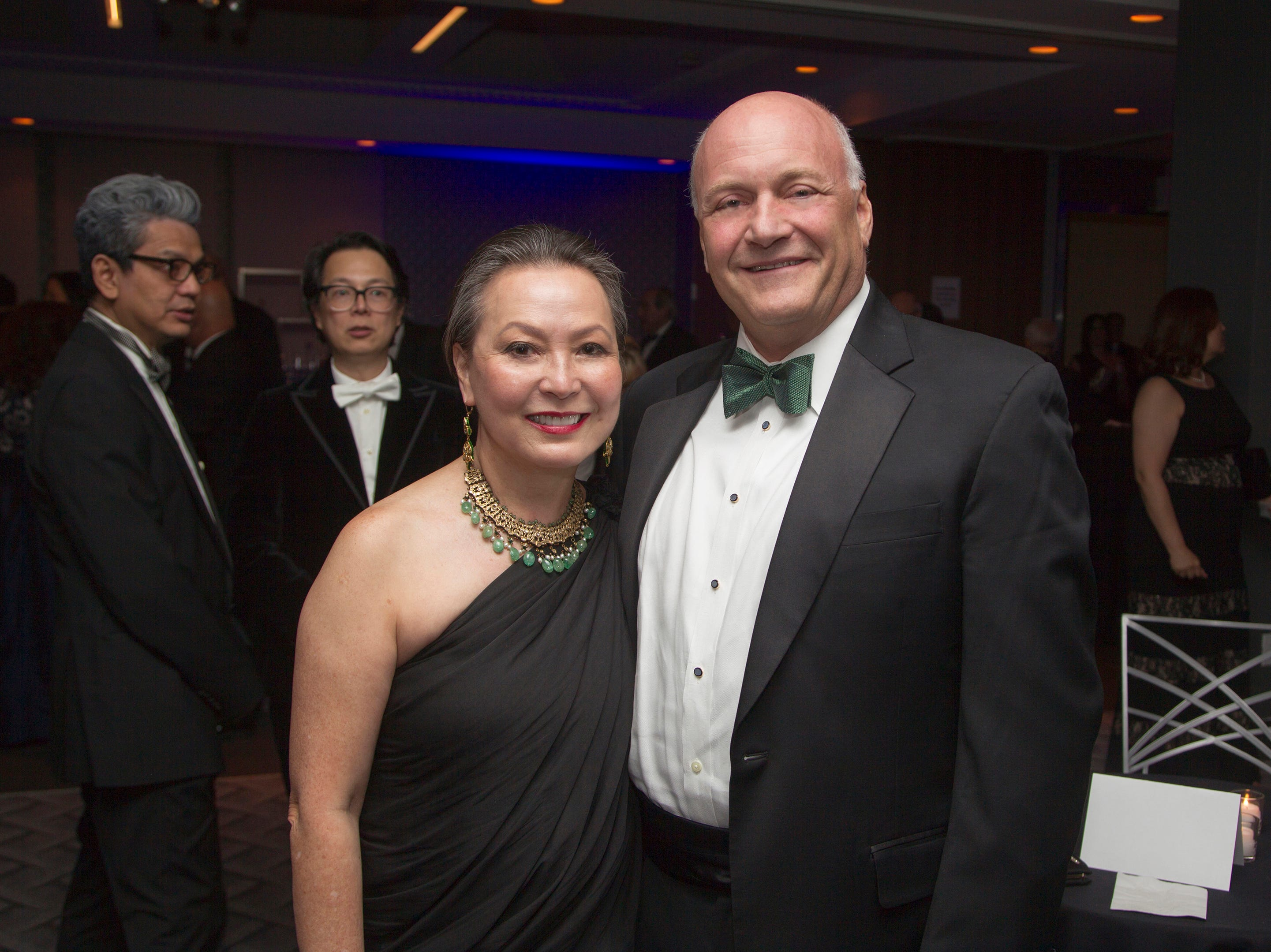 Angelica Berrie, Michael Maron. Holy Name Medical Center held its 2018 Founders Ball in NYC at Ziegfeld Ballroom. 11/17/2018