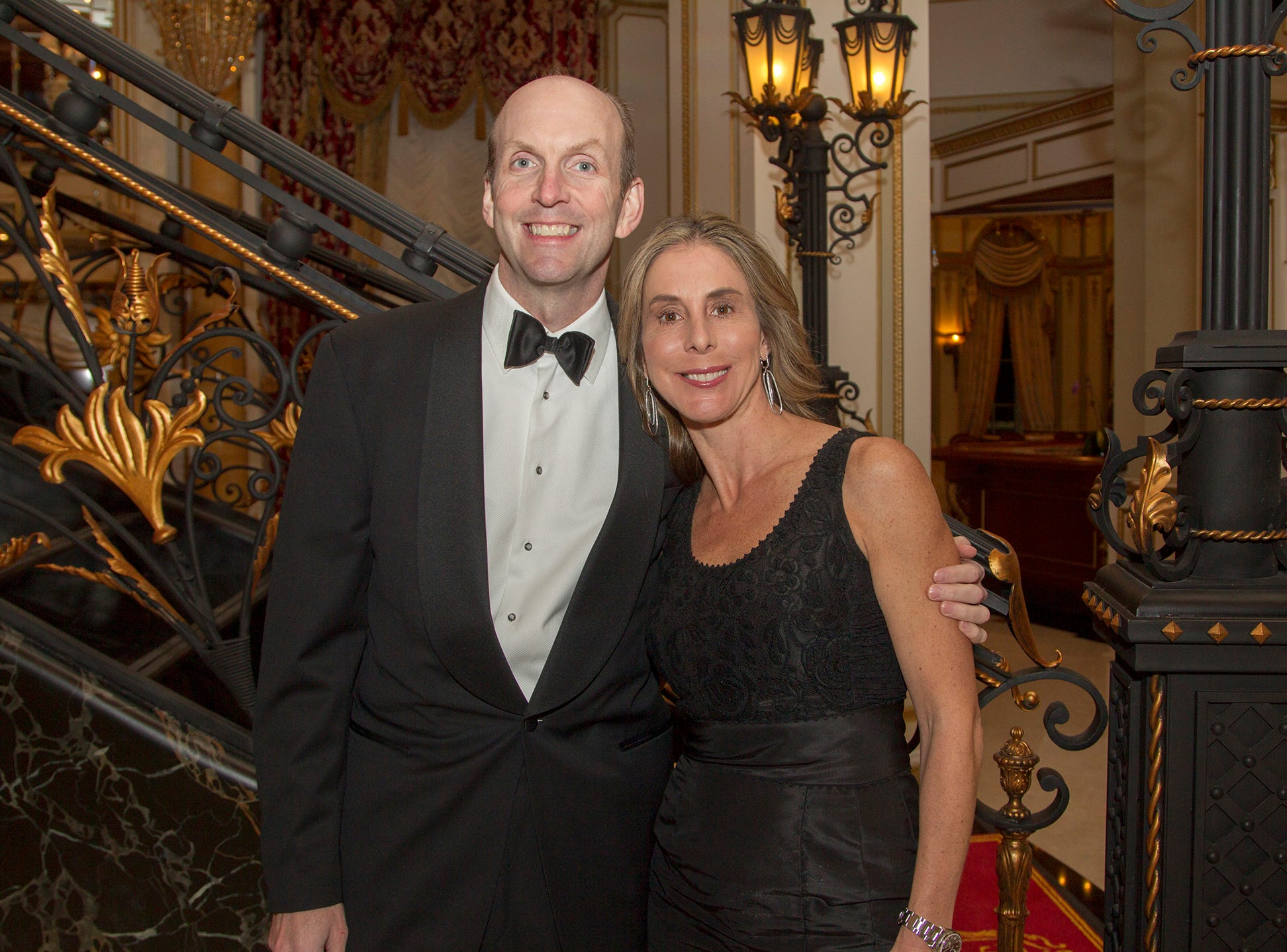 Duane and kathryn Sachs. The 72nd Annual Valley Ball gala at The Legacy Castle in Pompton Plains. 11/16/2018