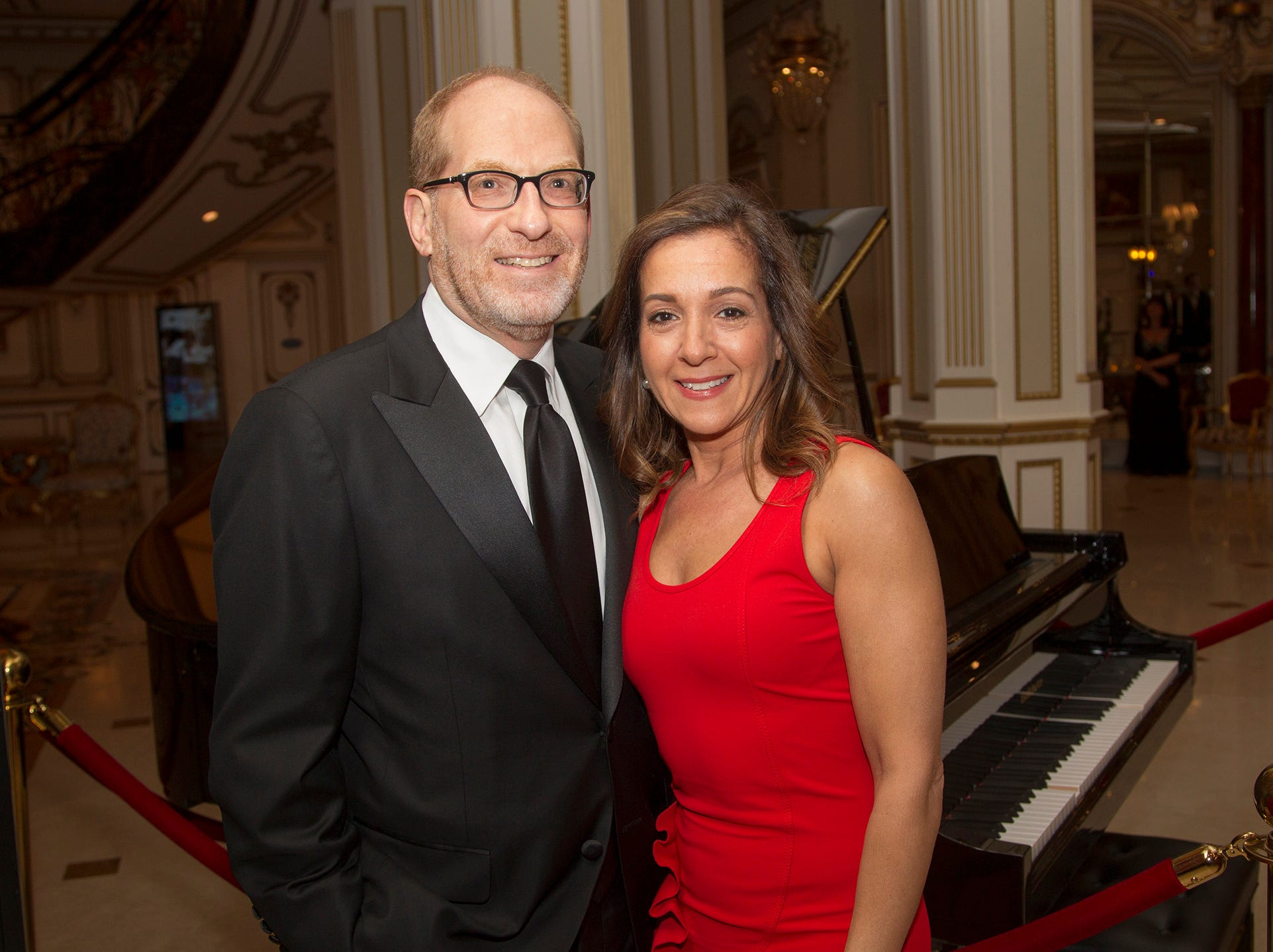 Wayne and Marcie Wald. The 72nd Annual Valley Ball gala at The Legacy Castle in Pompton Plains. 11/16/2018