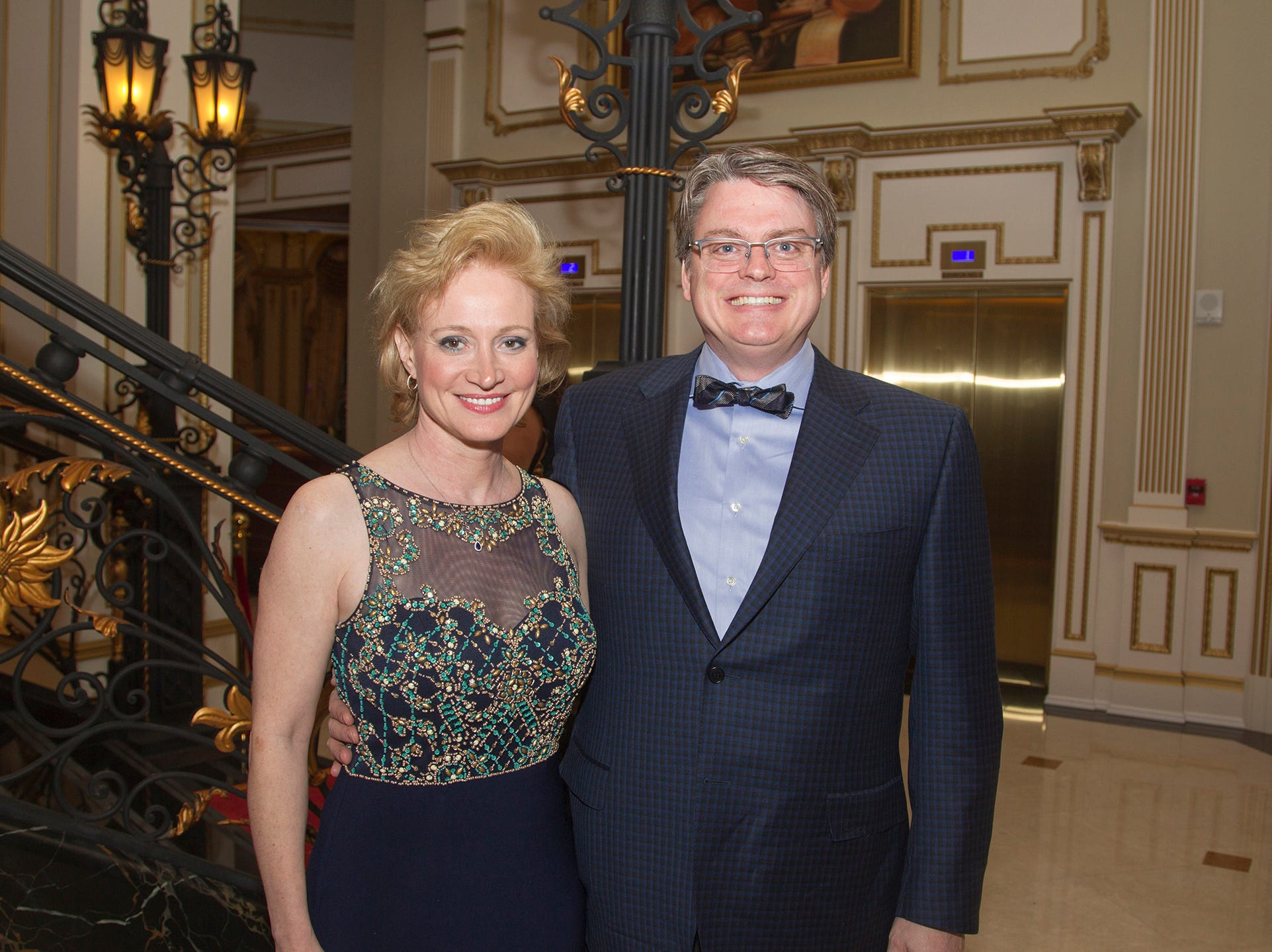 Lisa and Keith Docker. The 72nd Annual Valley Ball gala at The Legacy Castle in Pompton Plains. 11/16/2018