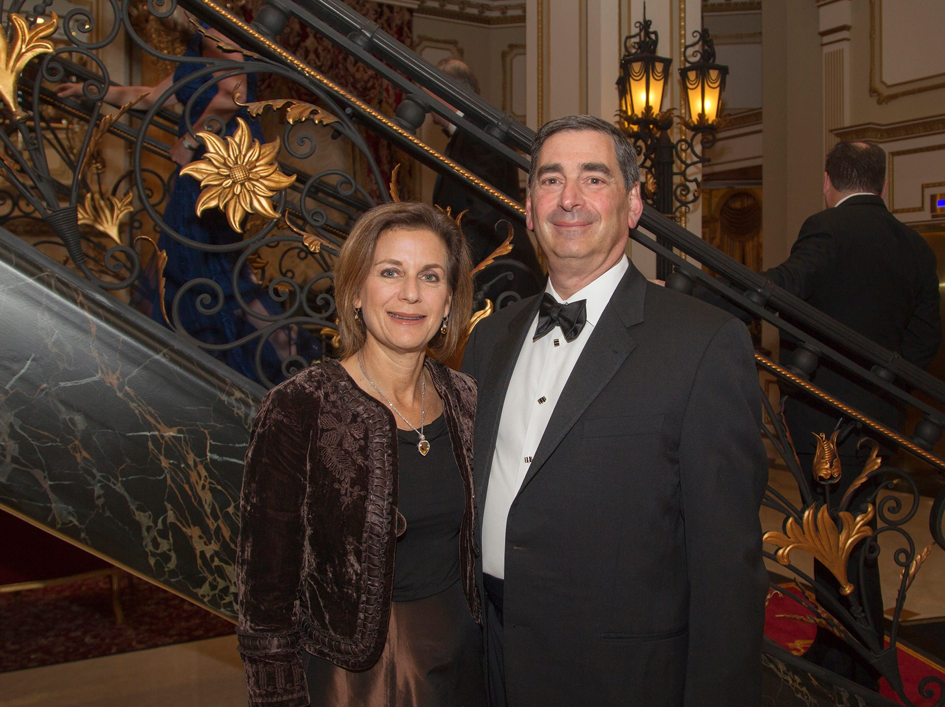 Gita and Jeff Magnes. The 72nd Annual Valley Ball gala at The Legacy Castle in Pompton Plains. 11/16/2018