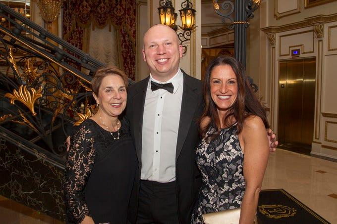Myra Pecchio, Cartney Ezyk, Louisa DelCorpo. The 72nd Annual Valley Ball gala at The Legacy Castle in Pompton Plains. 11/16/2018