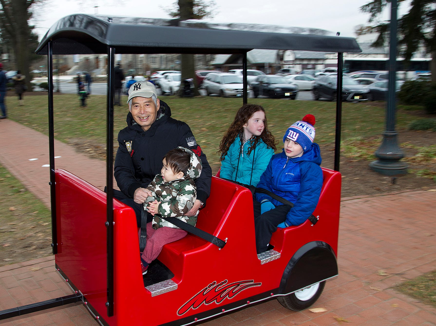 Train Ride. The Ridgewood Guild sponsors Winter Fest at Van Neste Park in Ridgewood. 11/24/2018