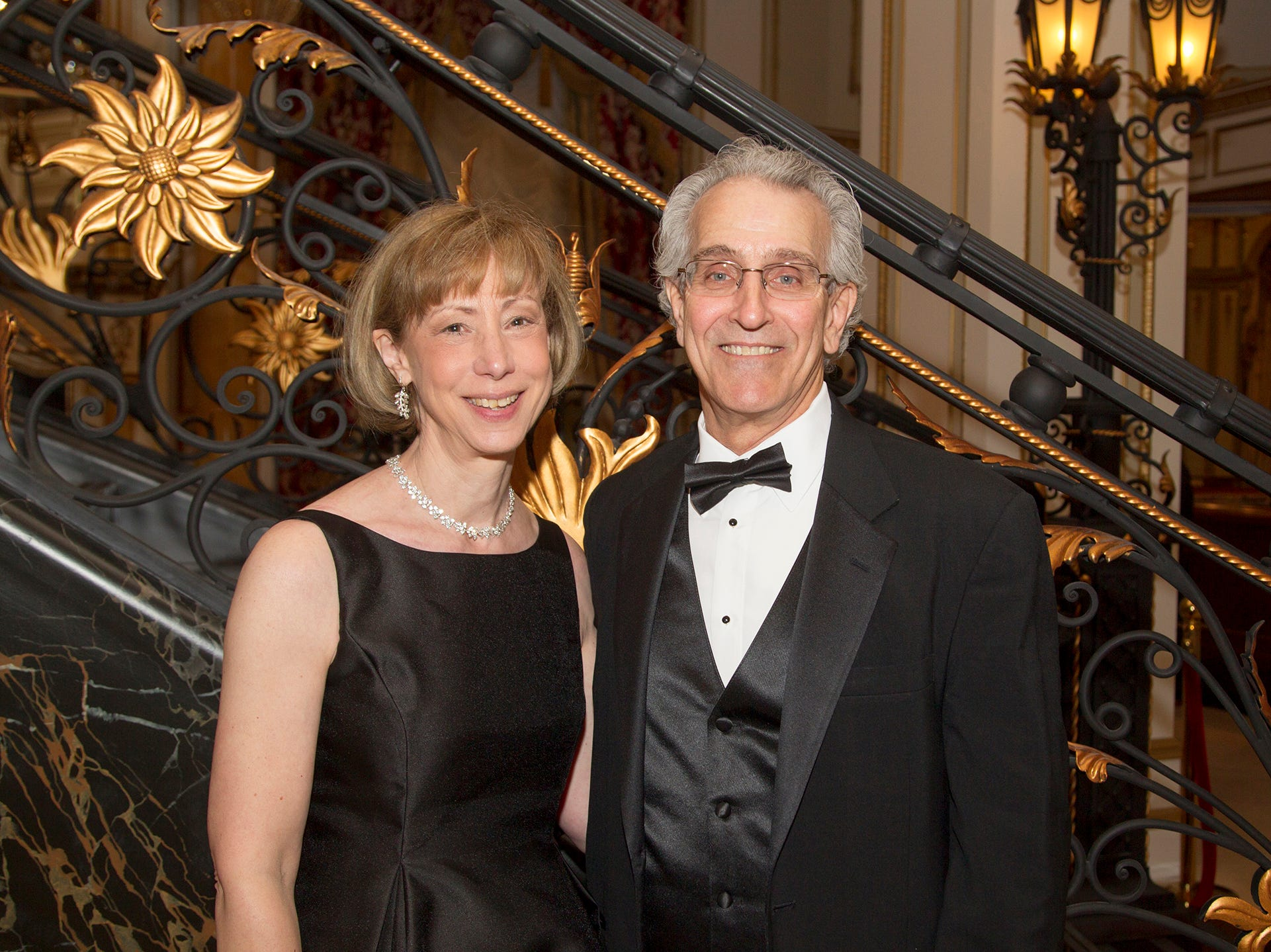 Ludmila and Mark Golad. The 72nd Annual Valley Ball gala at The Legacy Castle in Pompton Plains. 11/16/2018
