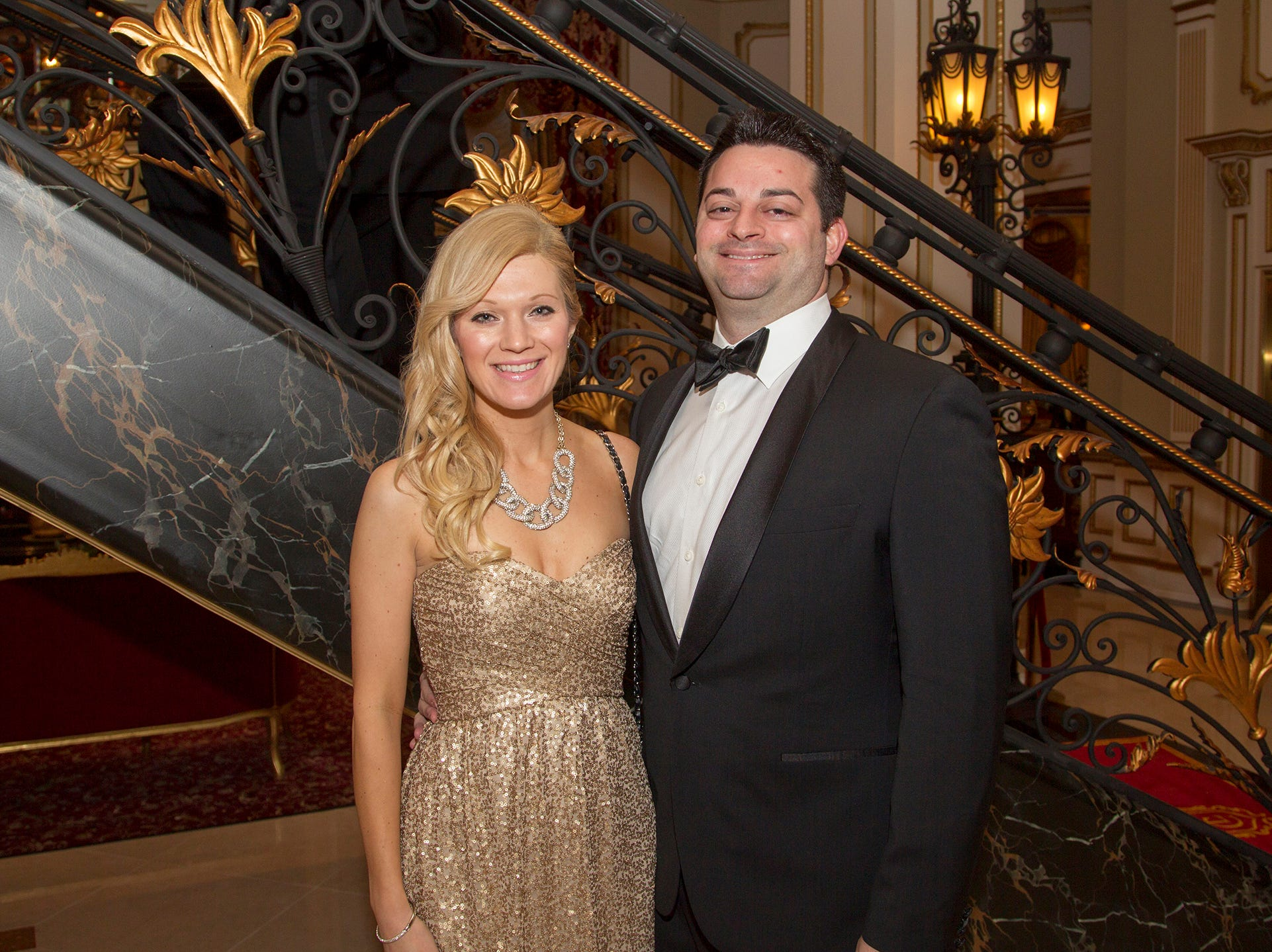 Rachel and Dr. Antonio Lasorsa. The 72nd Annual Valley Ball gala at The Legacy Castle in Pompton Plains. 11/16/2018