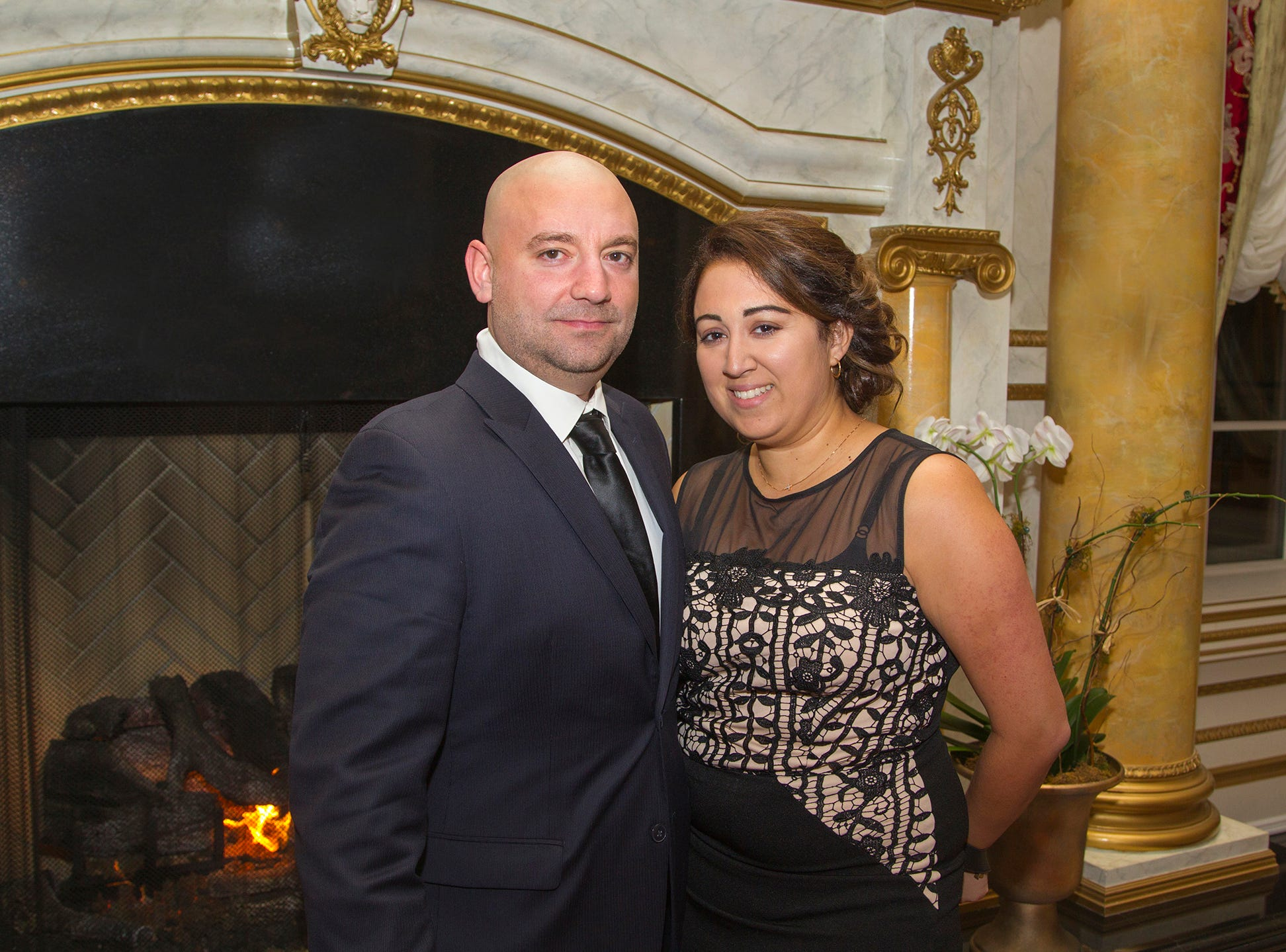 Nick Pansuni, Anna Giancaspro.  The 72nd Annual Valley Ball gala at The Legacy Castle in Pompton Plains. 11/16/2018