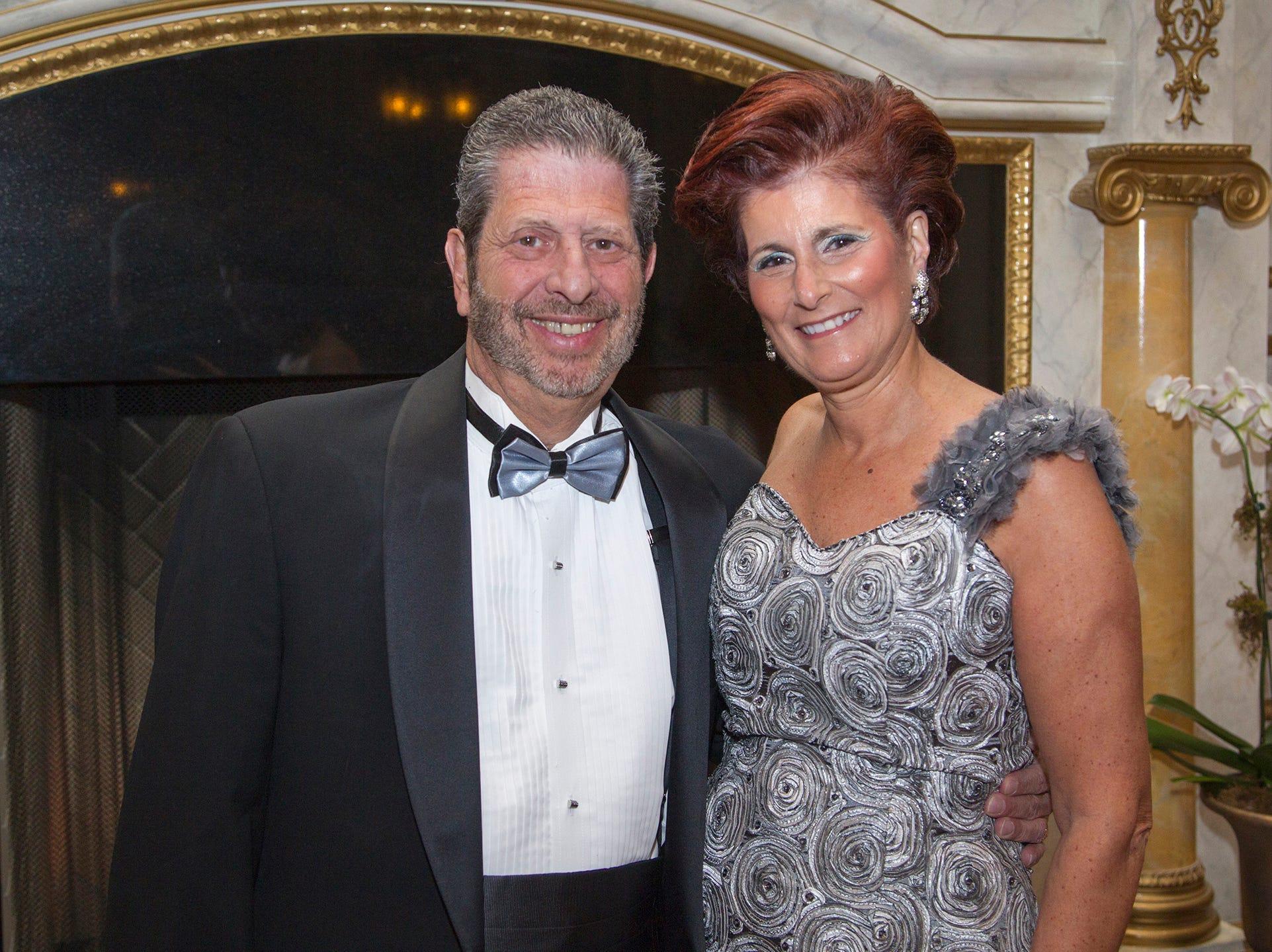 Joe Fragola, Marylynn Kearns. The 72nd Annual Valley Ball gala at The Legacy Castle in Pompton Plains. 11/16/2018