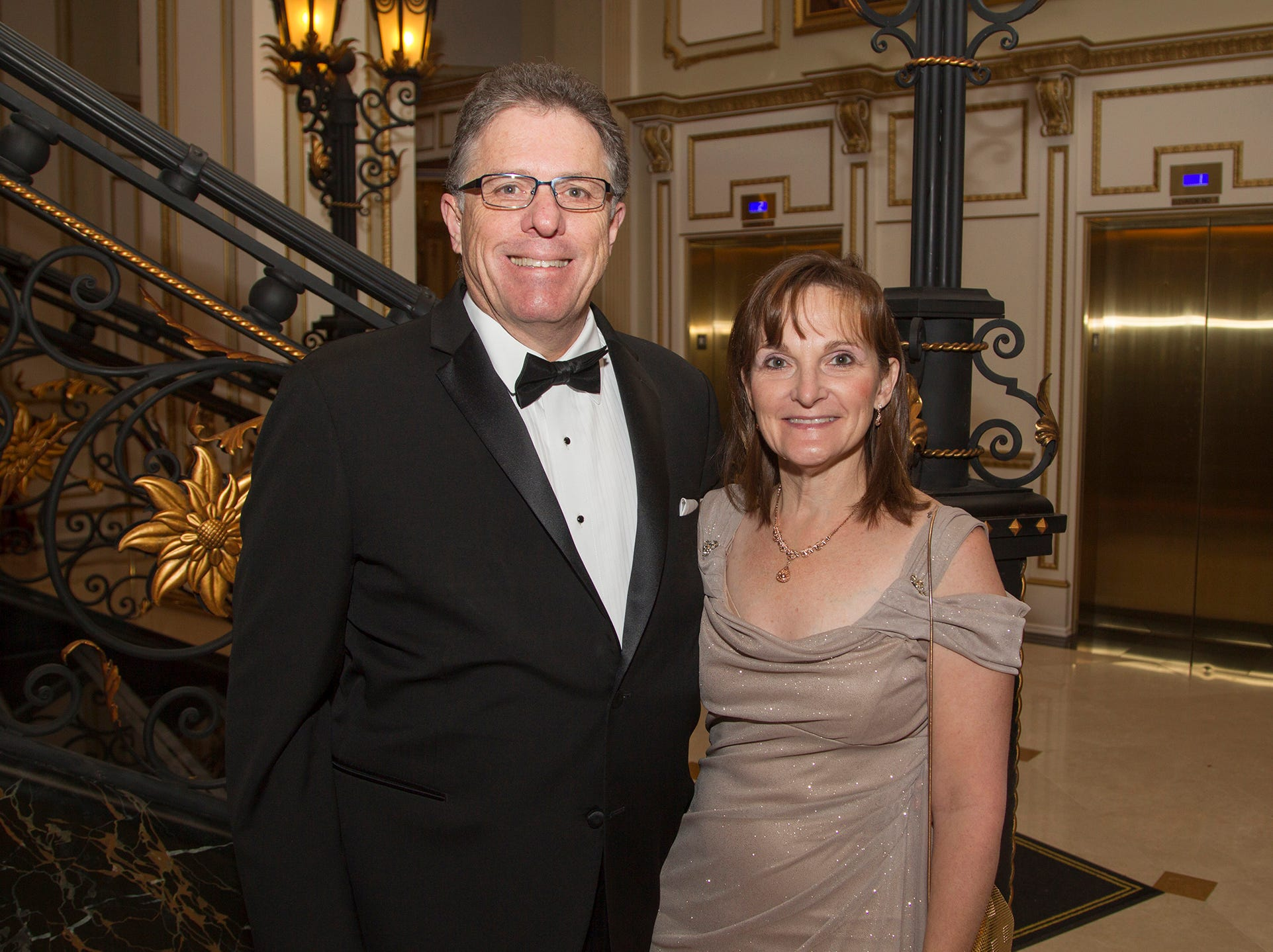 Ken and Holly Madara. The 72nd Annual Valley Ball gala at The Legacy Castle in Pompton Plains. 11/16/2018