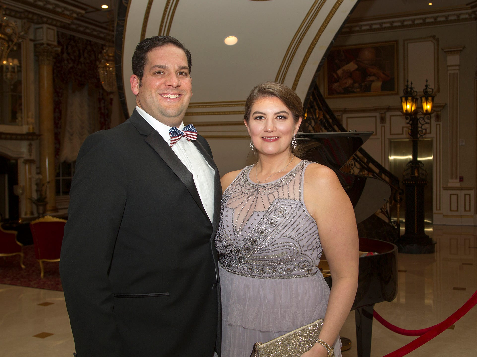 James and Alessandra Agnew. The 72nd Annual Valley Ball gala at The Legacy Castle in Pompton Plains. 11/16/2018