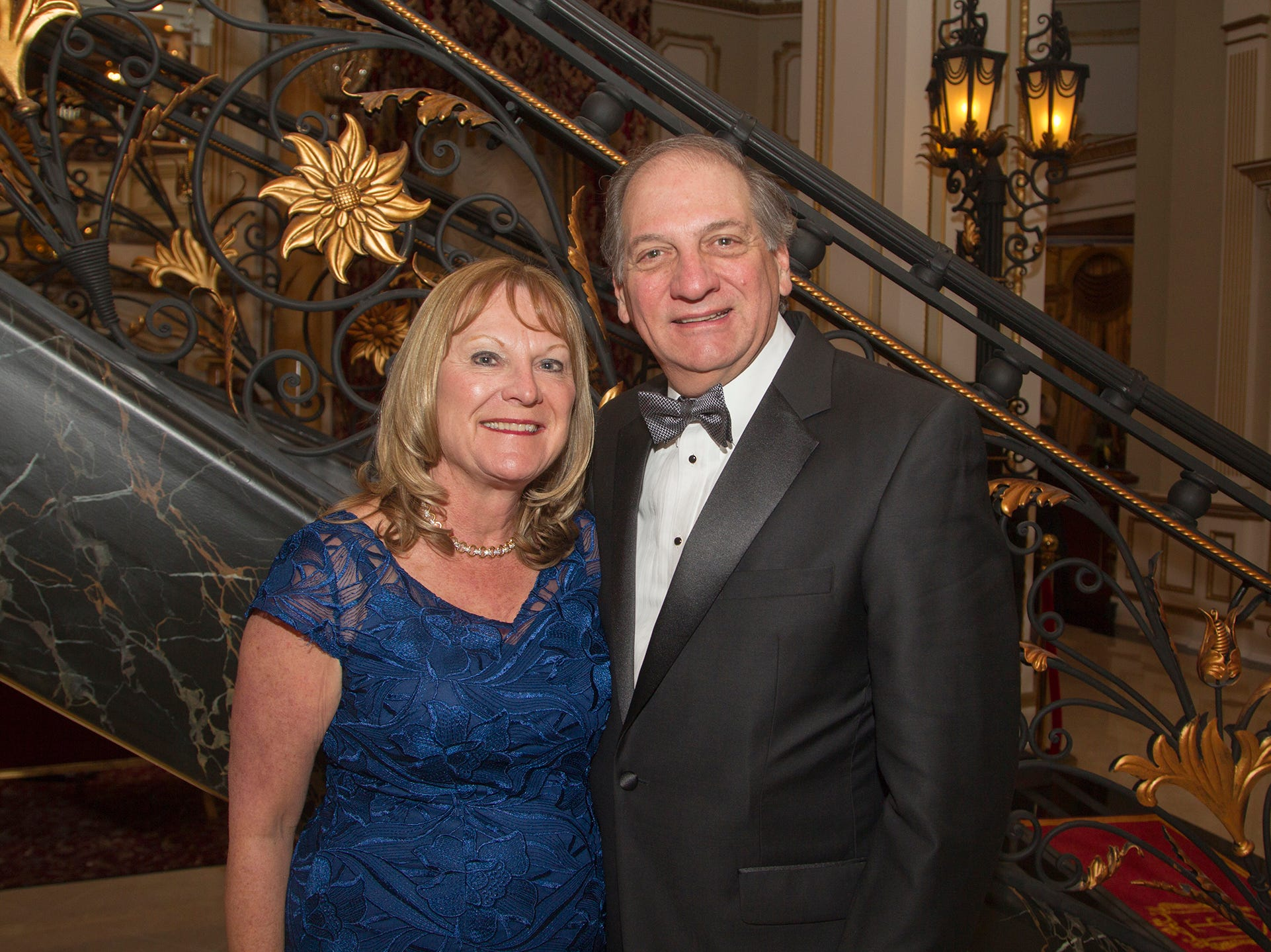 Eve and Jeefrey Tucker. The 72nd Annual Valley Ball gala at The Legacy Castle in Pompton Plains. 11/16/2018