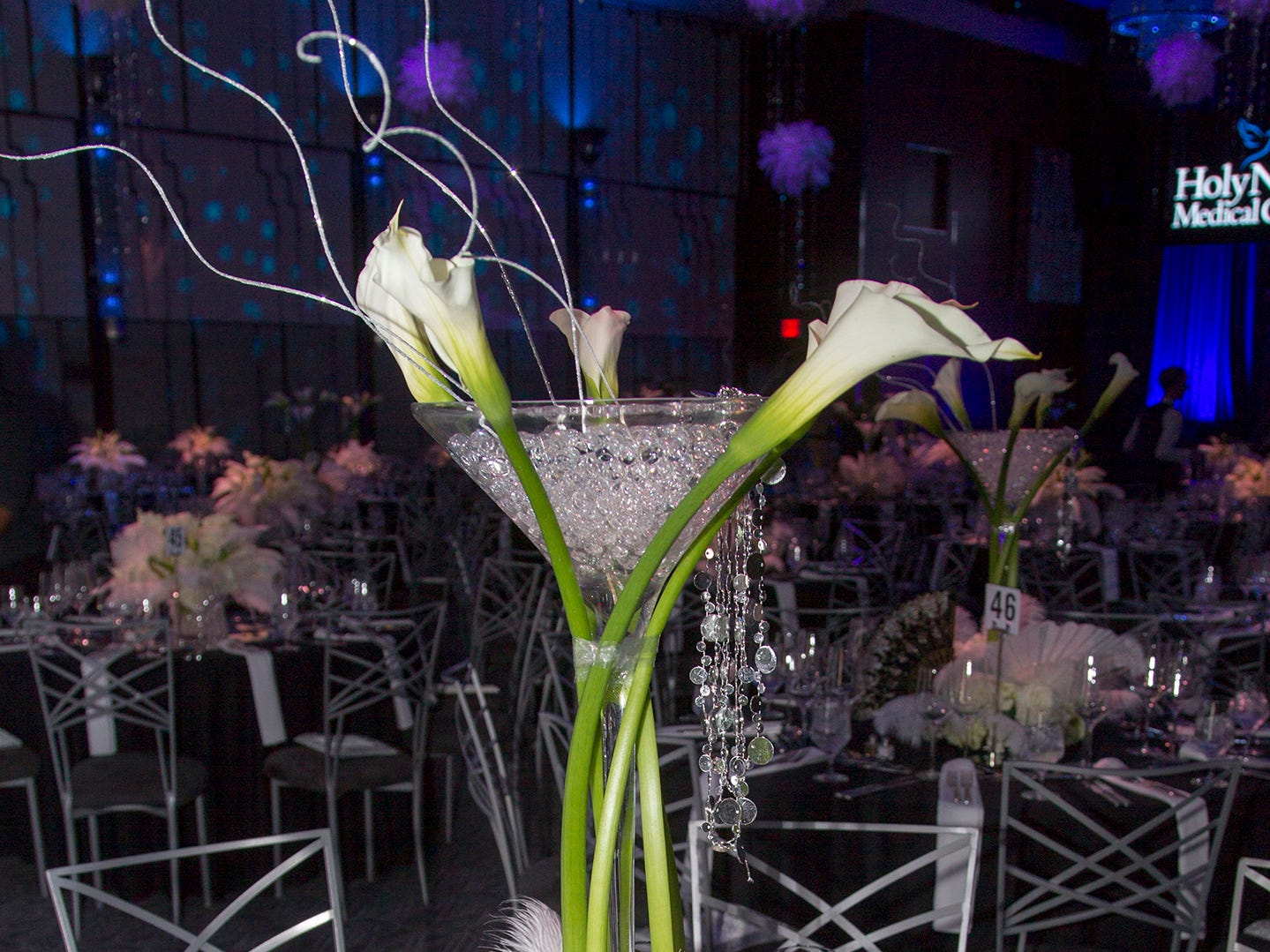 Holy Name Medical Center held its 2018 Founders Ball in NYC at Ziegfeld Ballroom. 11/17/2018