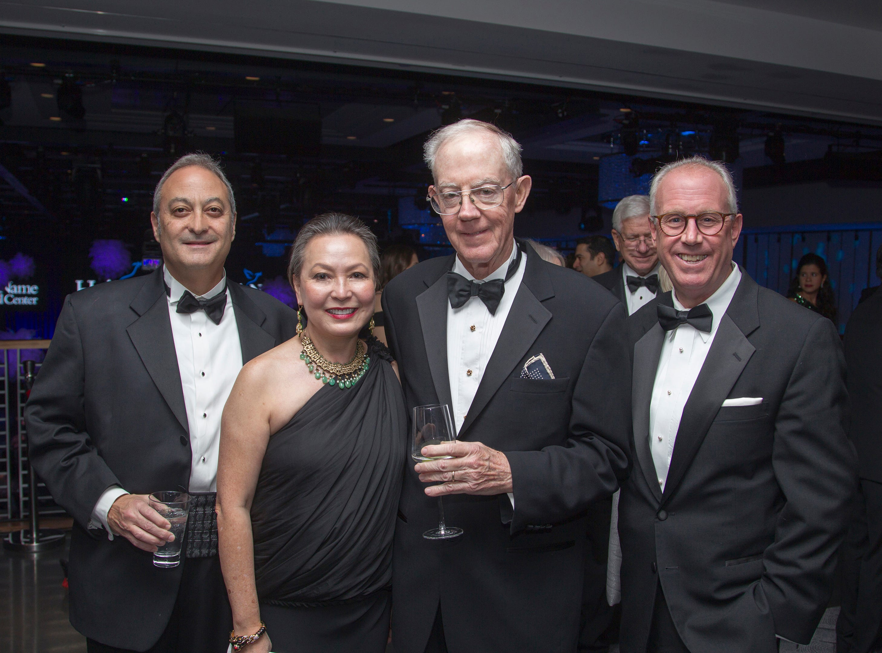 Fernando Garip, Angelica Berrie, John Geraghty, Joseph Parisi, Jr. Holy Name Medical Center held its 2018 Founders Ball in NYC at Ziegfeld Ballroom. 11/17/2018