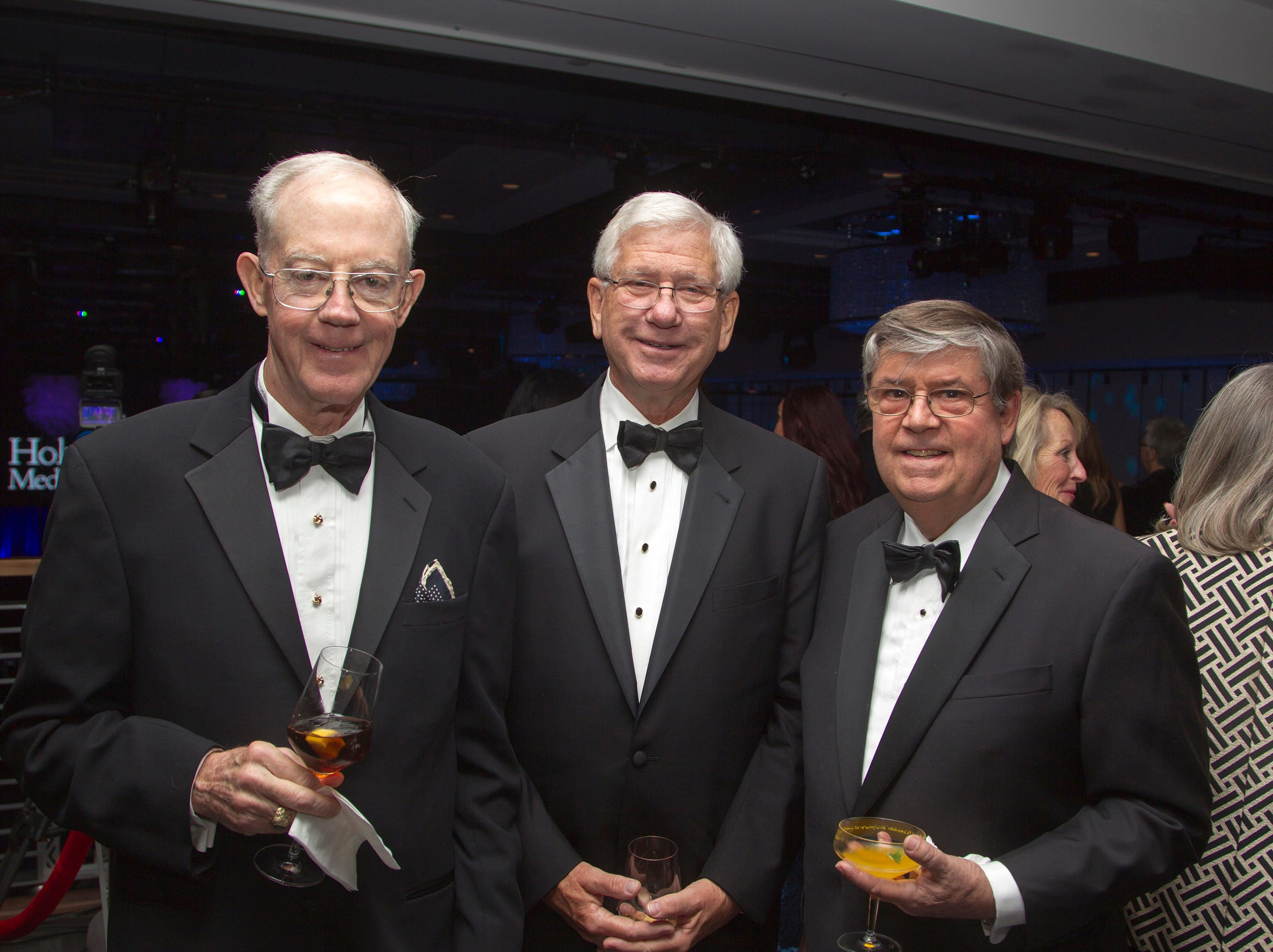 Jack Geraghty, Don Monks, Drew Watson. Holy Name Medical Center held its 2018 Founders Ball in NYC at Ziegfeld Ballroom. 11/17/2018