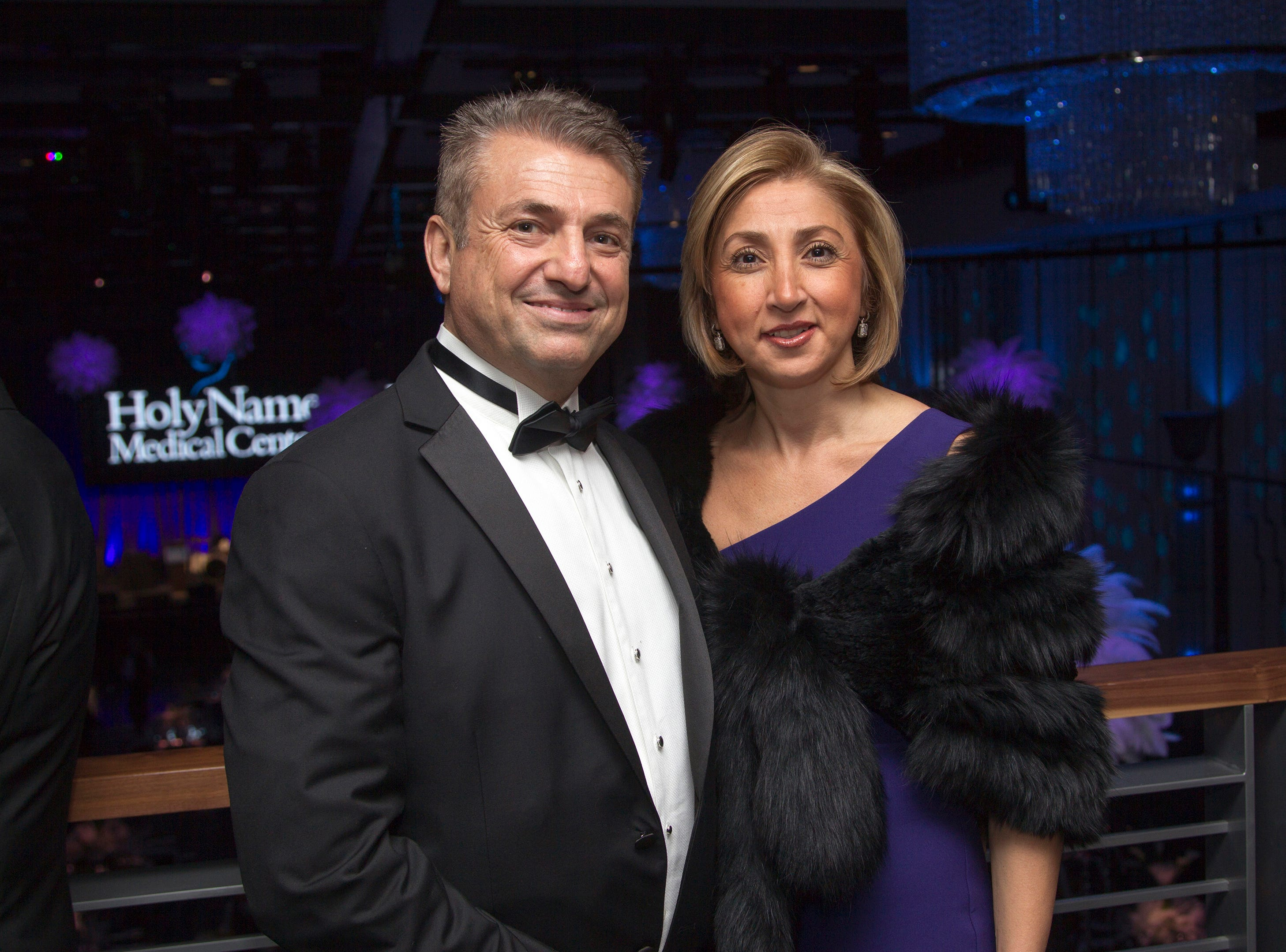 Leon and Ursula Temiz. Holy Name Medical Center held its 2018 Founders Ball in NYC at Ziegfeld Ballroom. 11/17/2018