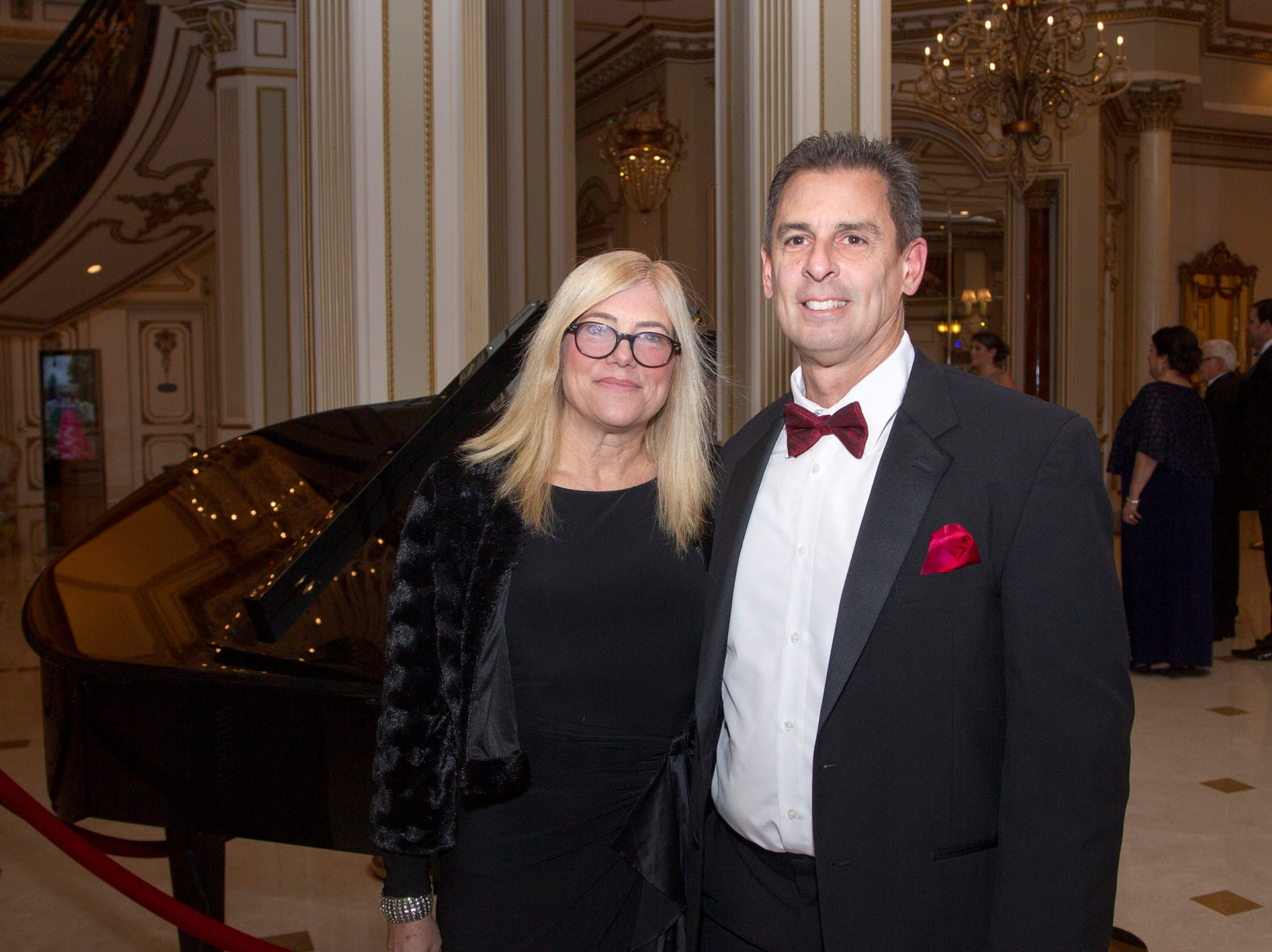Jackie and John Aletta. The 72nd Annual Valley Ball gala at The Legacy Castle in Pompton Plains. 11/16/2018