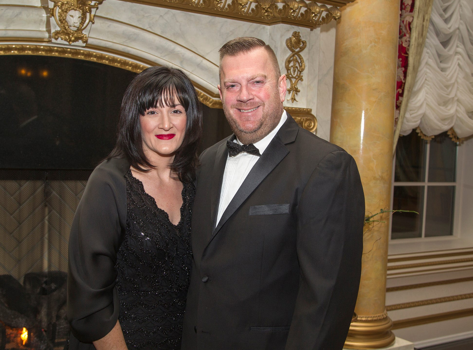 Chris and Rita Lemley. The 72nd Annual Valley Ball gala at The Legacy Castle in Pompton Plains. 11/16/2018