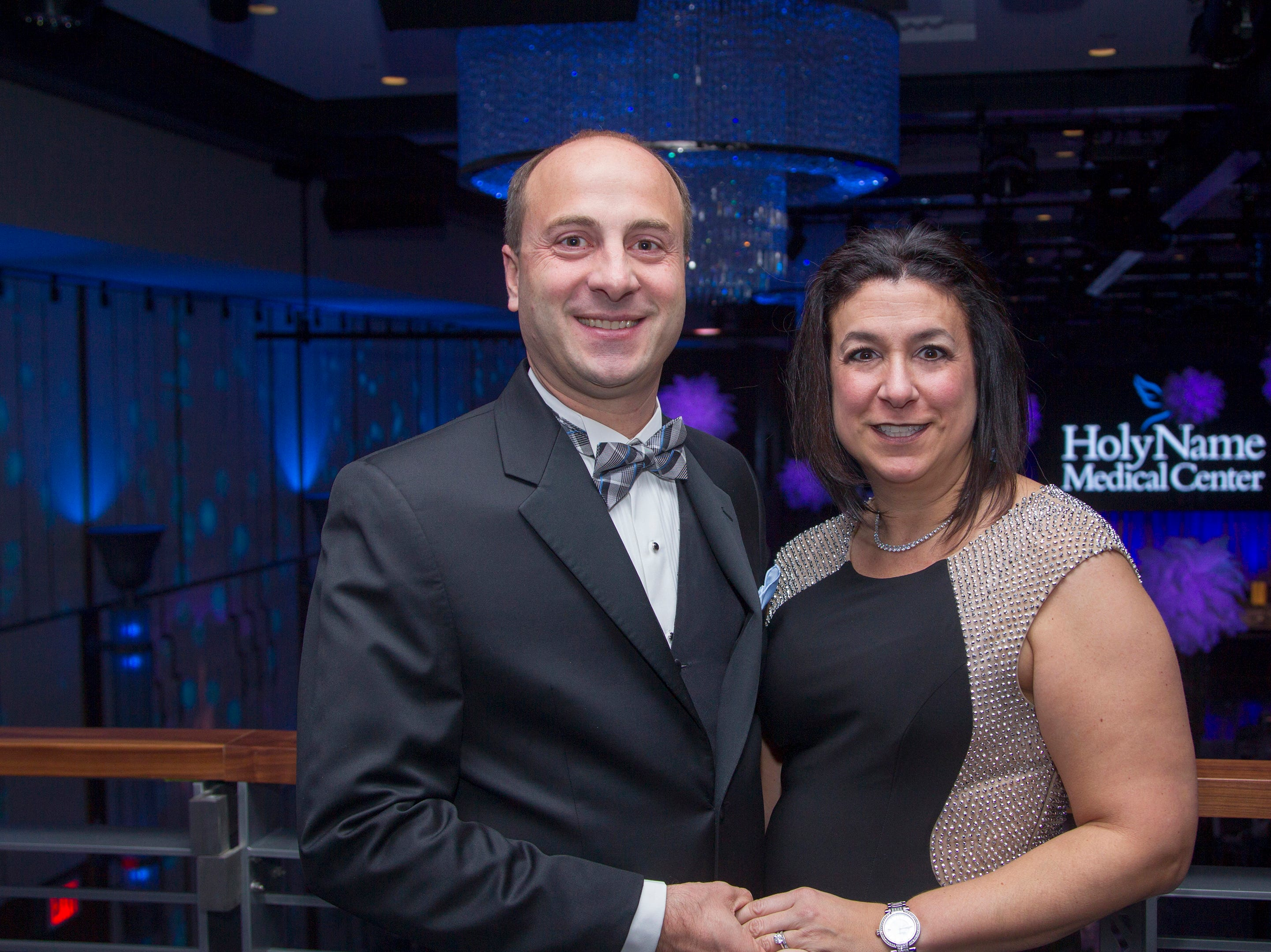 Giacomo and Gina Cocchiara. Holy Name Medical Center held its 2018 Founders Ball in NYC at Ziegfeld Ballroom. 11/17/2018
