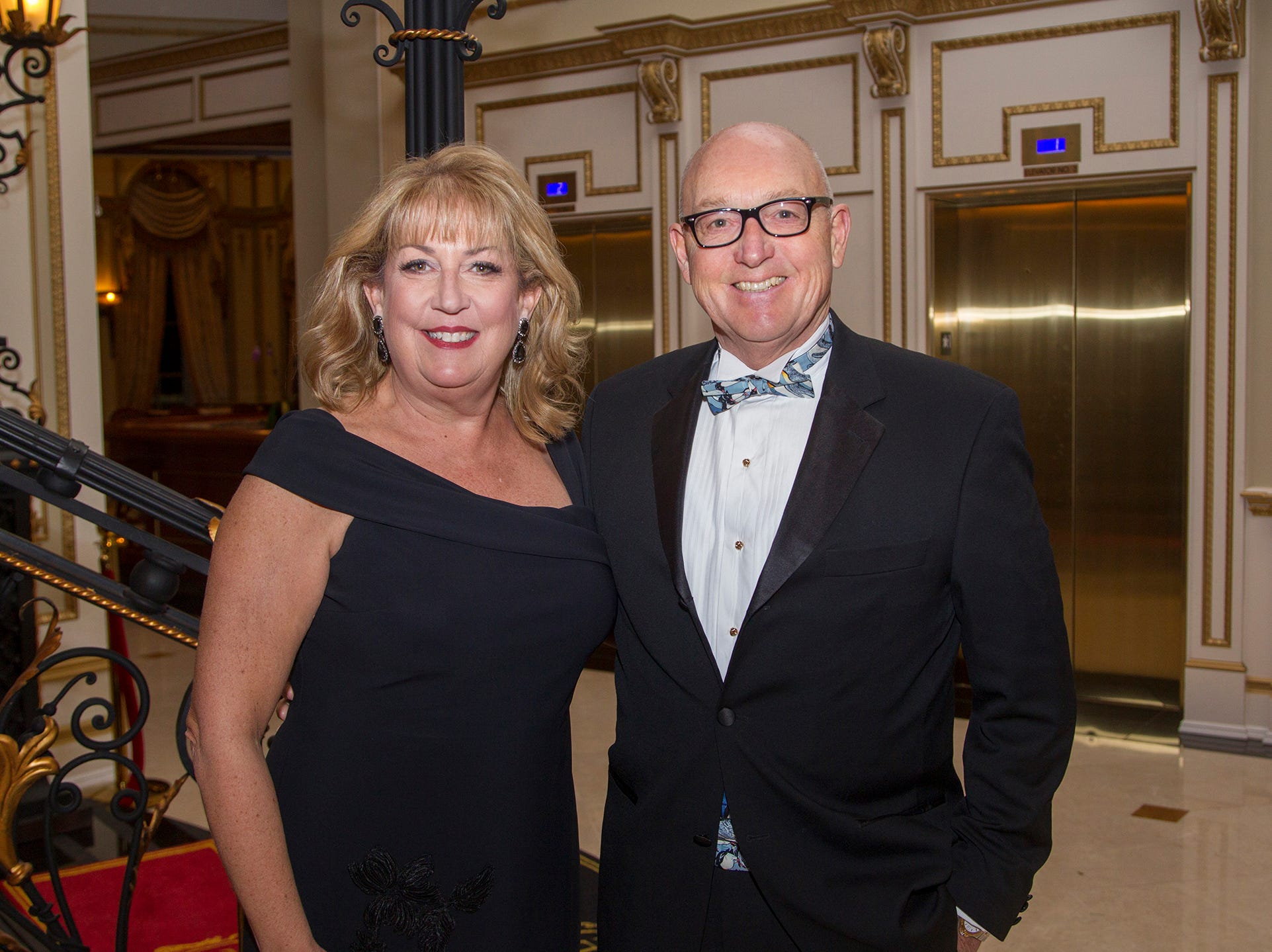 Dana and Roger Van Noorhis. The 72nd Annual Valley Ball gala at The Legacy Castle in Pompton Plains. 11/16/2018