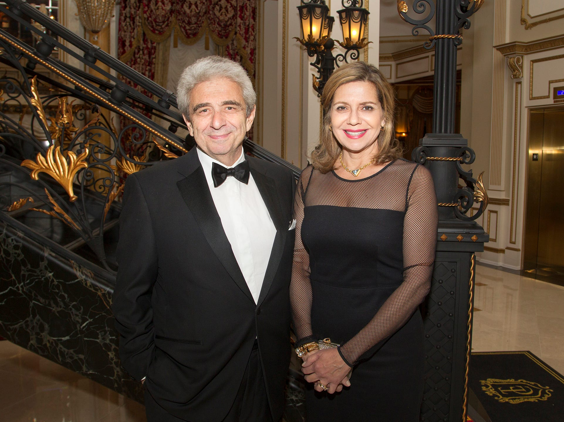 Rashid and Rola Baddoura. The 72nd Annual Valley Ball gala at The Legacy Castle in Pompton Plains. 11/16/2018