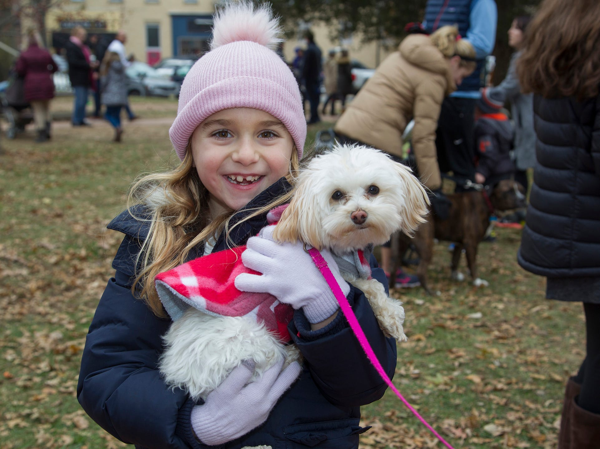 Chloe and Pipper. The Ridgewood Guild sponsors Winter Fest at Van Neste Park in Ridgewood. 11/24/2018