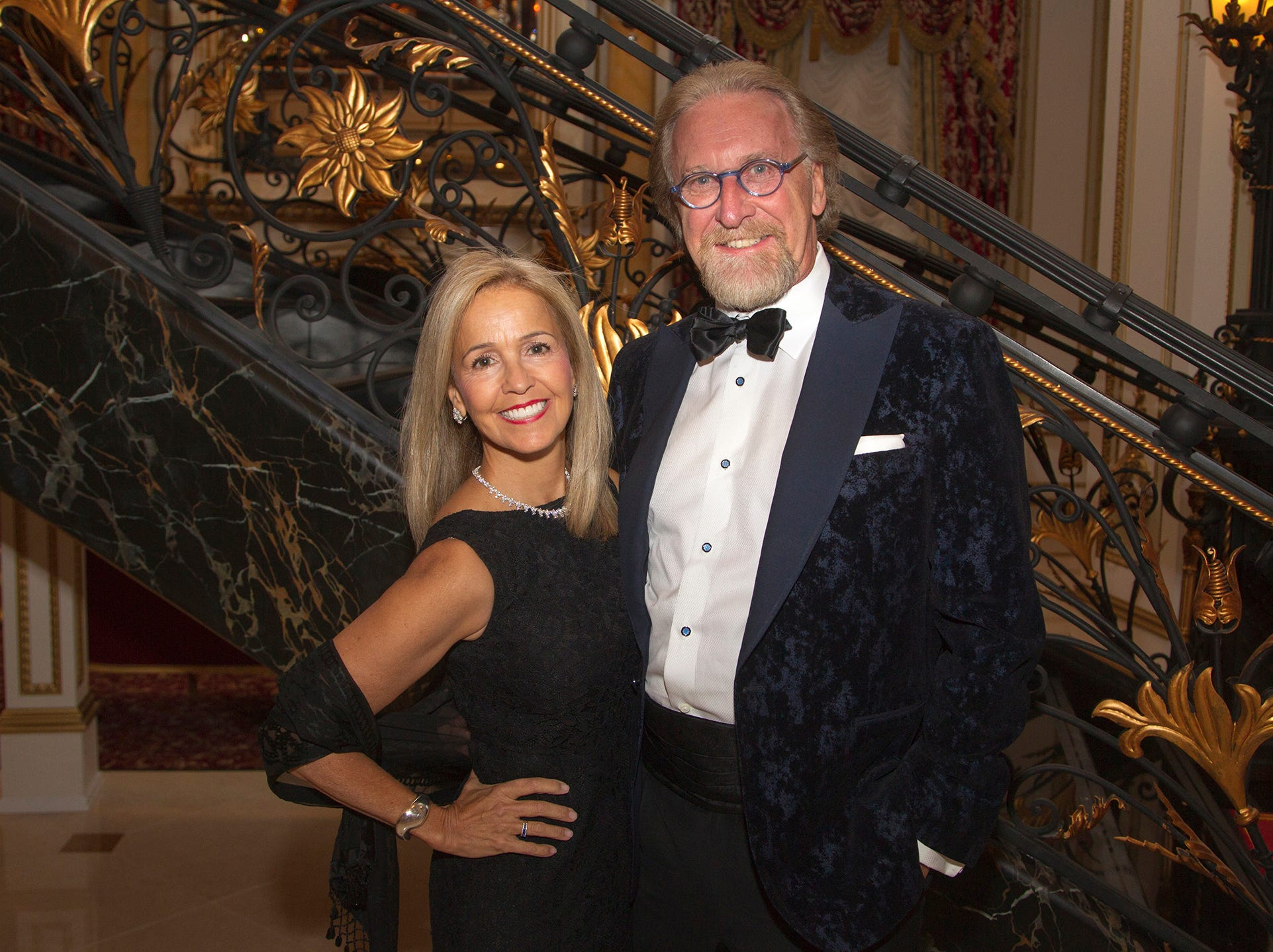 Elizabeth and Bob Van Dyk. The 72nd Annual Valley Ball gala at The Legacy Castle in Pompton Plains. 11/16/2018