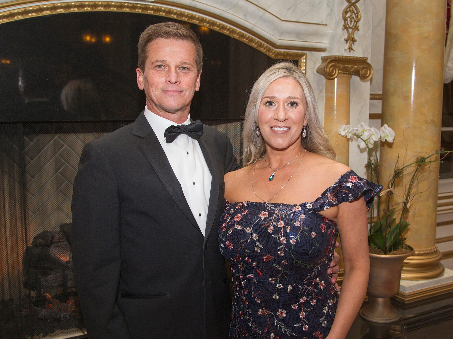 Phil and Kara Centineo. The 72nd Annual Valley Ball gala at The Legacy Castle in Pompton Plains. 11/16/2018