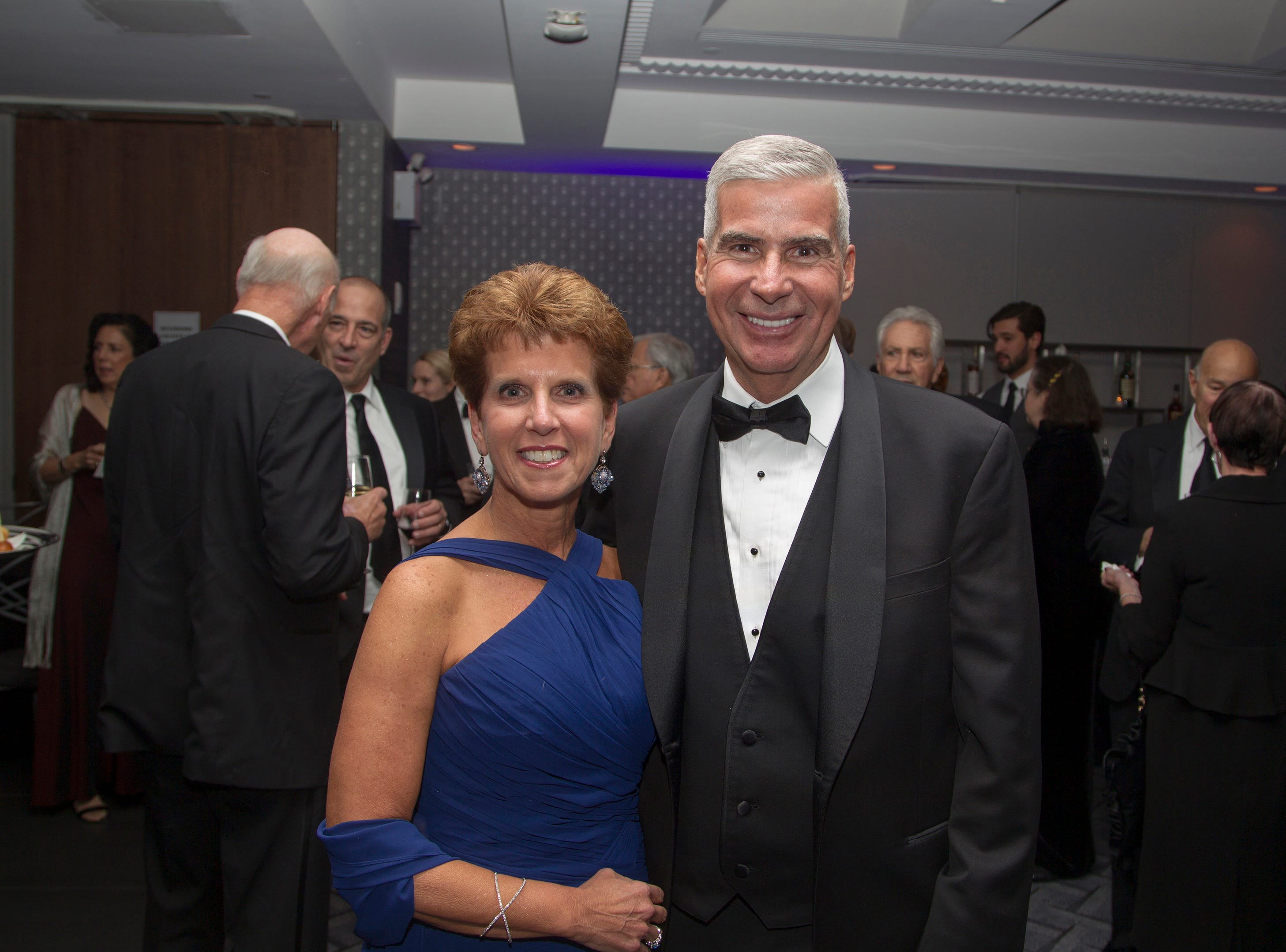 Michele and Michael Acito. Holy Name Medical Center held its 2018 Founders Ball in NYC at Ziegfeld Ballroom. 11/17/2018