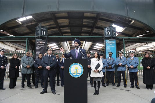Attorney General Gurbir Grewal Announces The Immigtation Trust A New Directive Establishing New Rules Governing How State County And Local Law Enforcement Officers In New Jersey Can Assist Federal Immigration Authorities