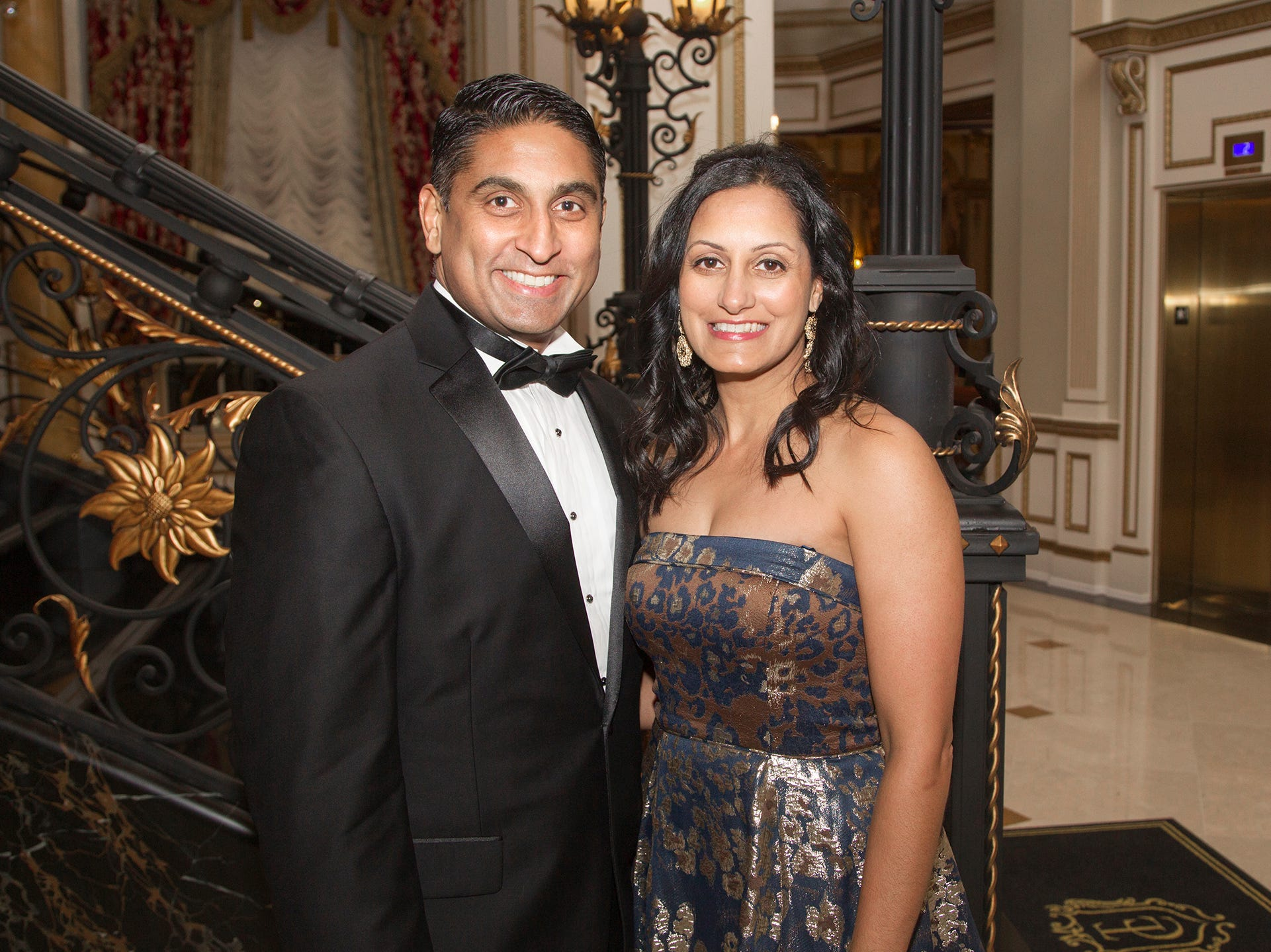 Karteck and Meera Bhavsar. The 72nd Annual Valley Ball gala at The Legacy Castle in Pompton Plains. 11/16/2018
