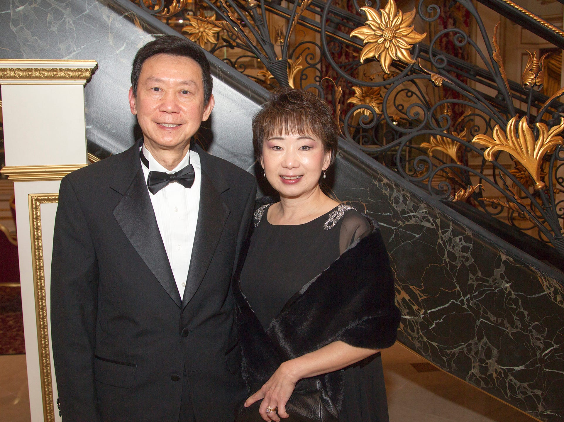 Henry and Cindy Zhou. The 72nd Annual Valley Ball gala at The Legacy Castle in Pompton Plains. 11/16/2018