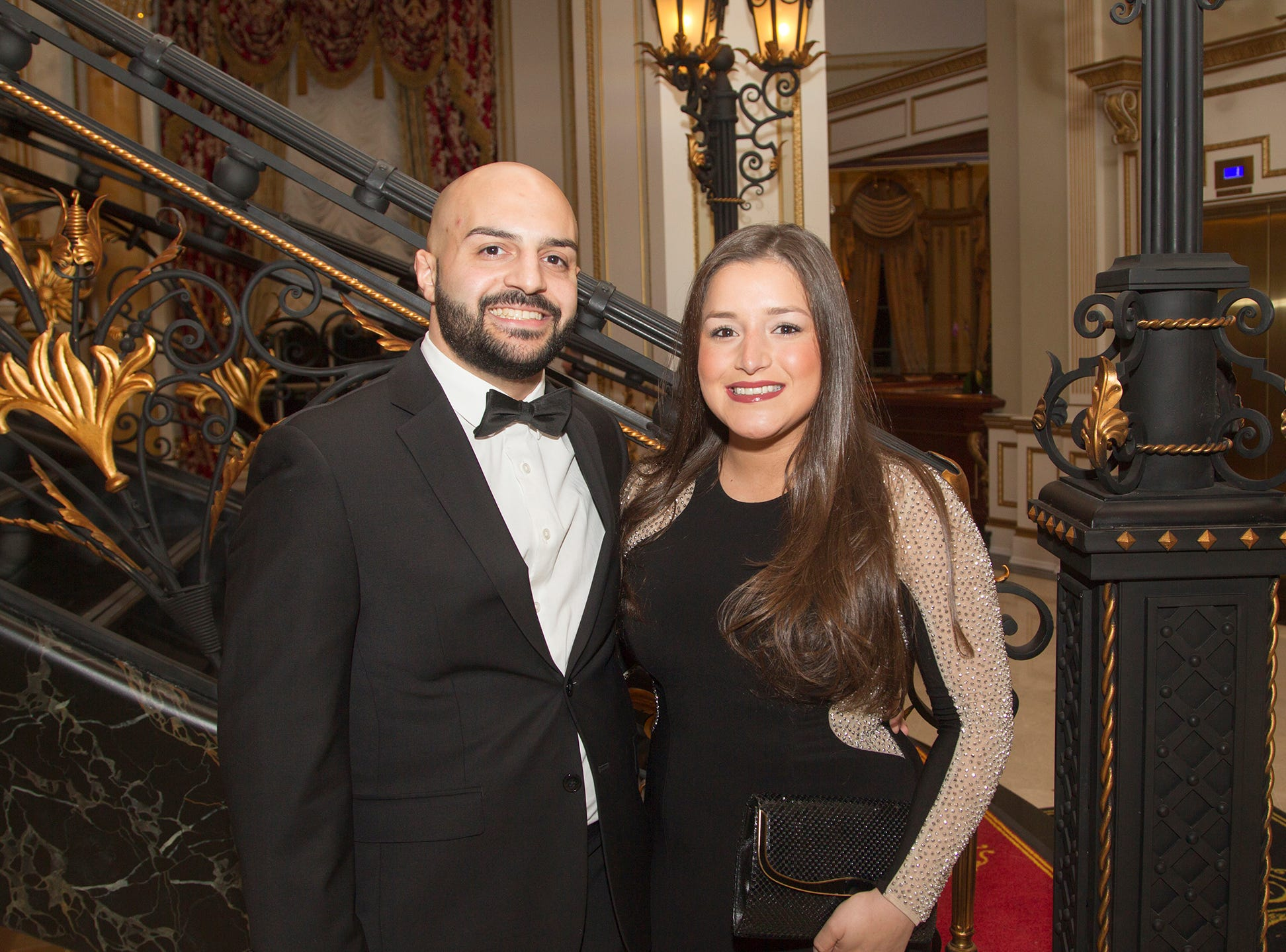 Miguel and Theresa Perez. The 72nd Annual Valley Ball gala at The Legacy Castle in Pompton Plains. 11/16/2018