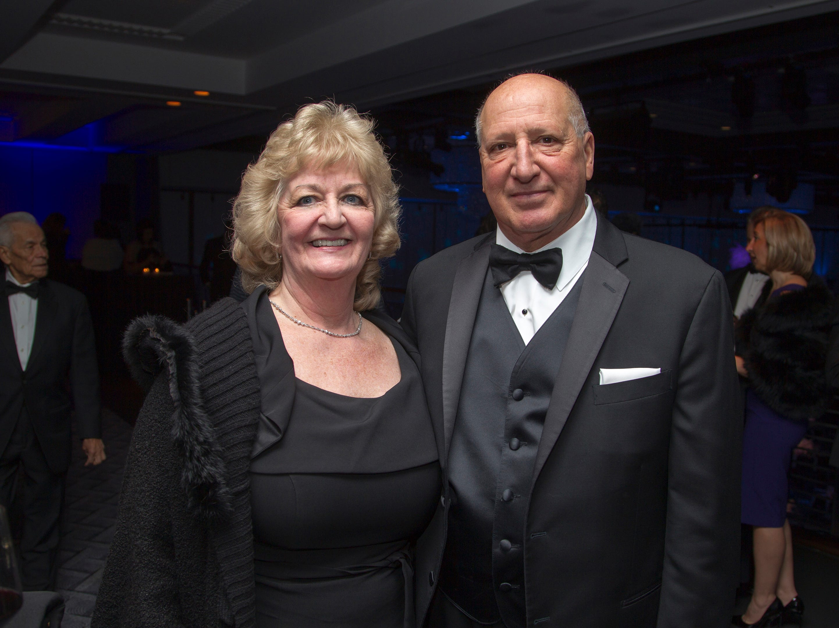 Debbie and Greg Policastro. Holy Name Medical Center held its 2018 Founders Ball in NYC at Ziegfeld Ballroom. 11/17/2018
