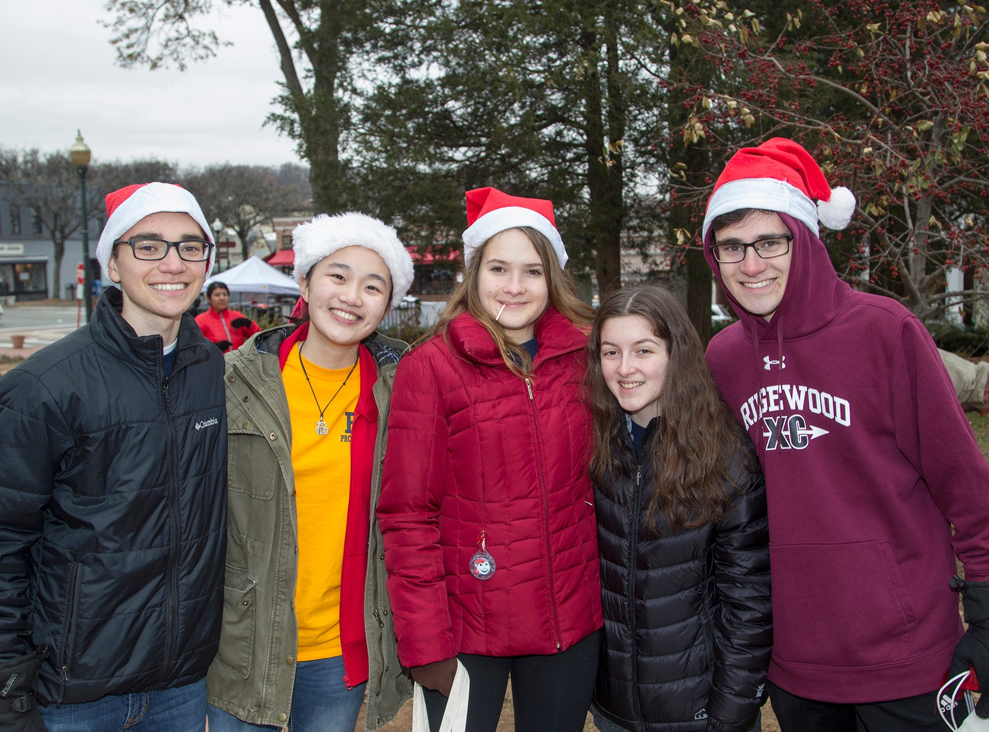 Logan, Vanessa, Katrina, Sofia, Luca. The Ridgewood Guild sponsors Winter Fest at Van Neste Park in Ridgewood. 11/24/2018