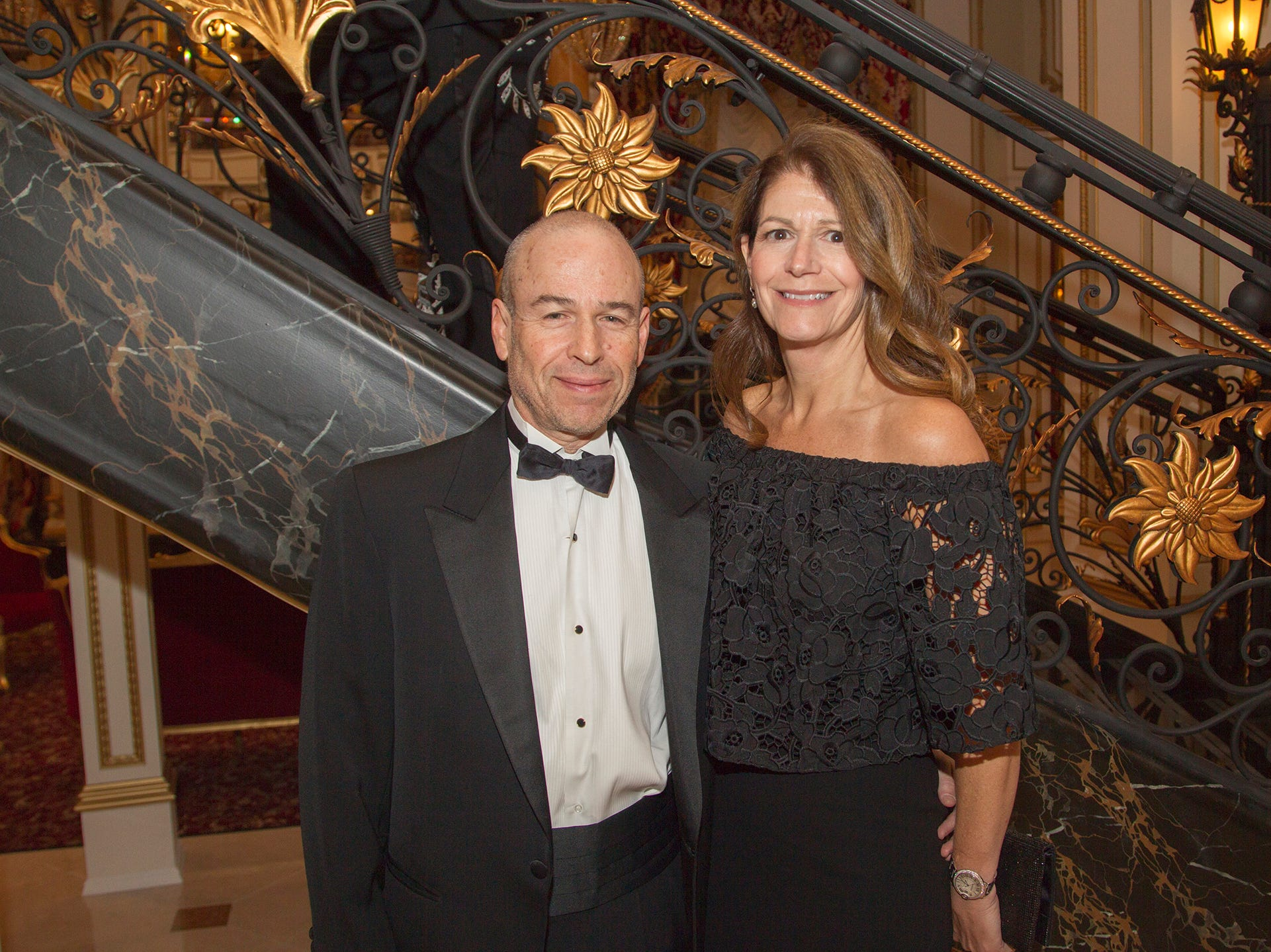 Ed and Deany Rubin. The 72nd Annual Valley Ball gala at The Legacy Castle in Pompton Plains. 11/16/2018