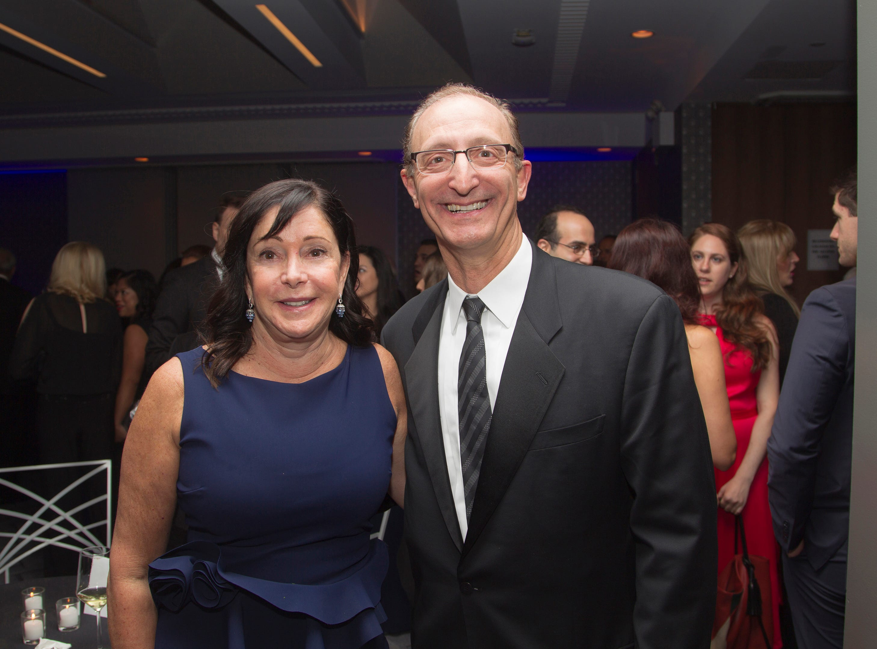 Joanne John Minichetti. Holy Name Medical Center held its 2018 Founders Ball in NYC at Ziegfeld Ballroom. 11/17/2018