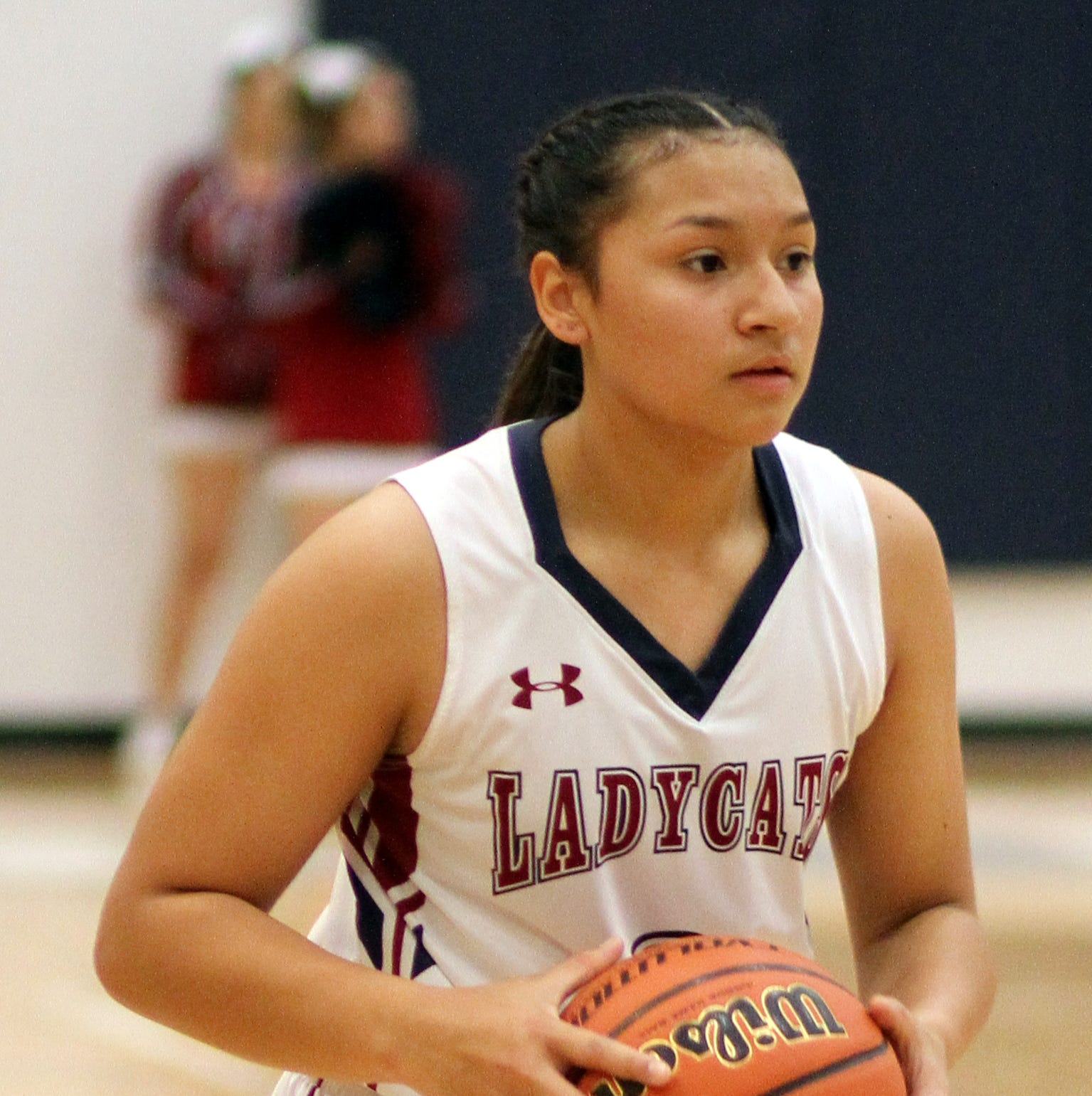 Harmanie Dominguez has taken her free-throw talent to the next level.