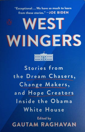 "Stephanie Garcia, a former Obama staffer, wrote a chapter in ""West Wingers"""