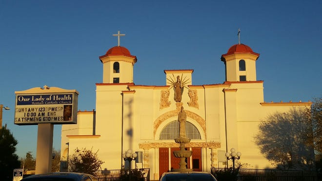 Our Lady of Health Catholic Church stands at 1178 N. Mesquite St., Las Cruces.