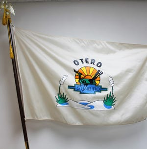 The current Otero County flag.