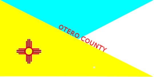 "The Otero County Commission chose this design only it will not have the words ""OTERO COUNTY"" on it."