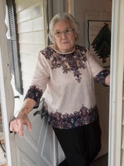 Mildred Davis still lives in the Plymouth Twp home where she raised her family.